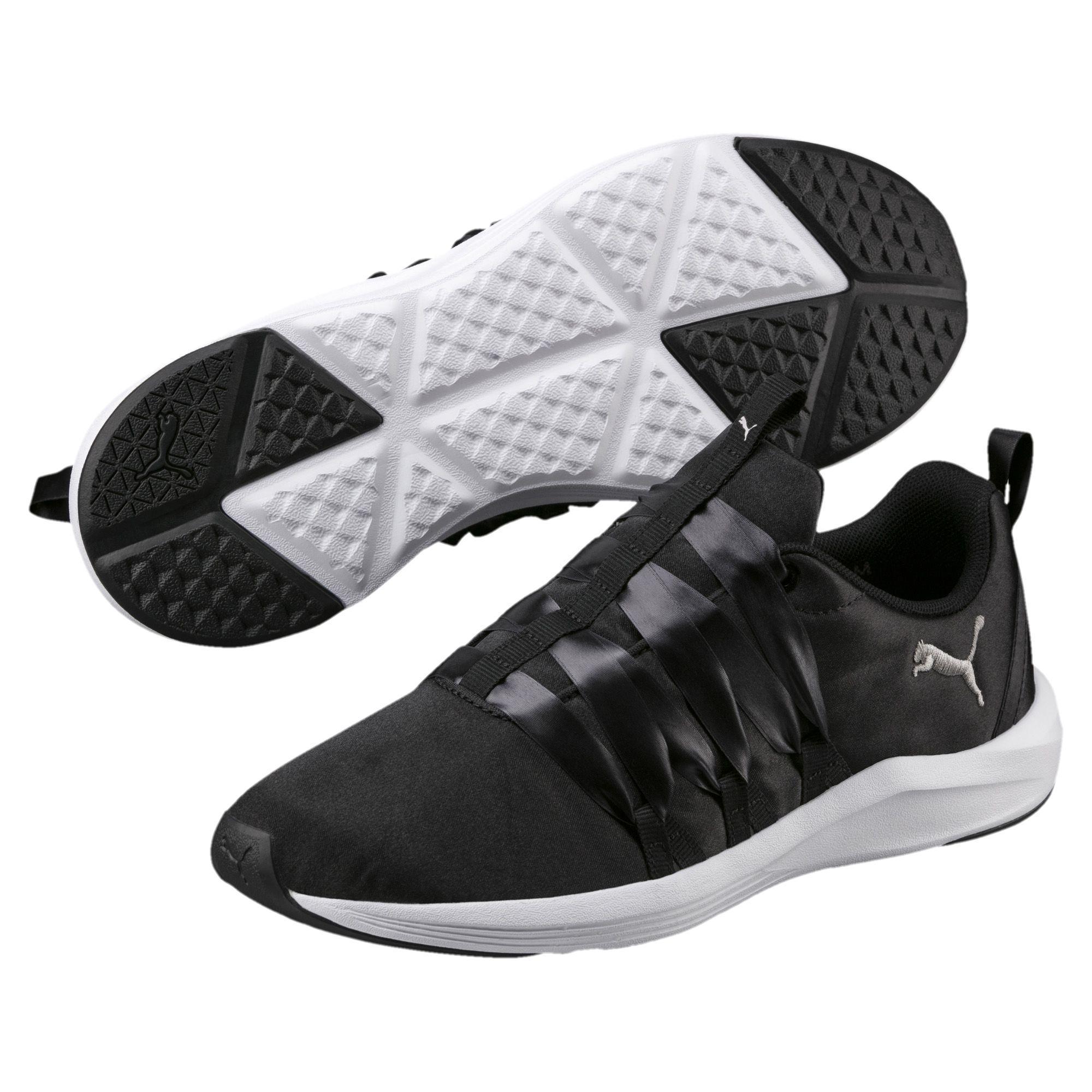 522696ef6b5 PUMA - Black Prowl Alt Satin Women s Training Shoes - Lyst. View fullscreen