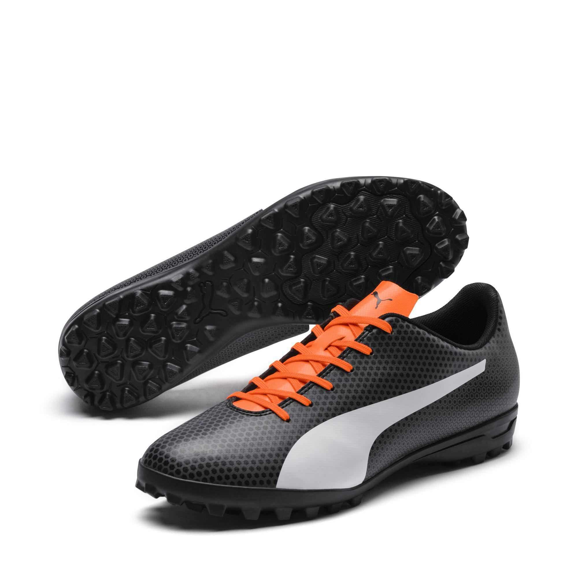889db5cbf3ca PUMA - Black Spirit Tt Turf Soccer Shoes for Men - Lyst. View fullscreen