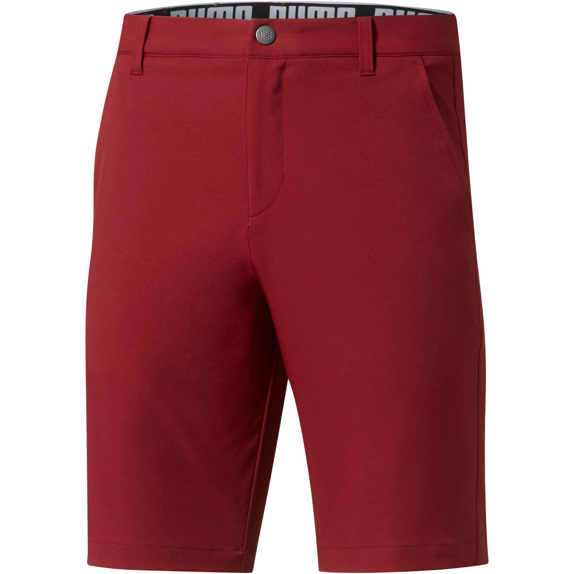 9ecbe0b25c95 Lyst - PUMA Golf Men s Essential Pounce Shorts in Red for Men
