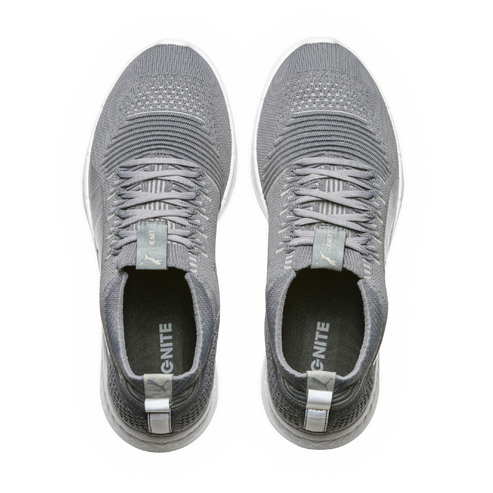 1fe56034eae Lyst - PUMA Ignite Proknit Men s Running Shoes in Gray for Men