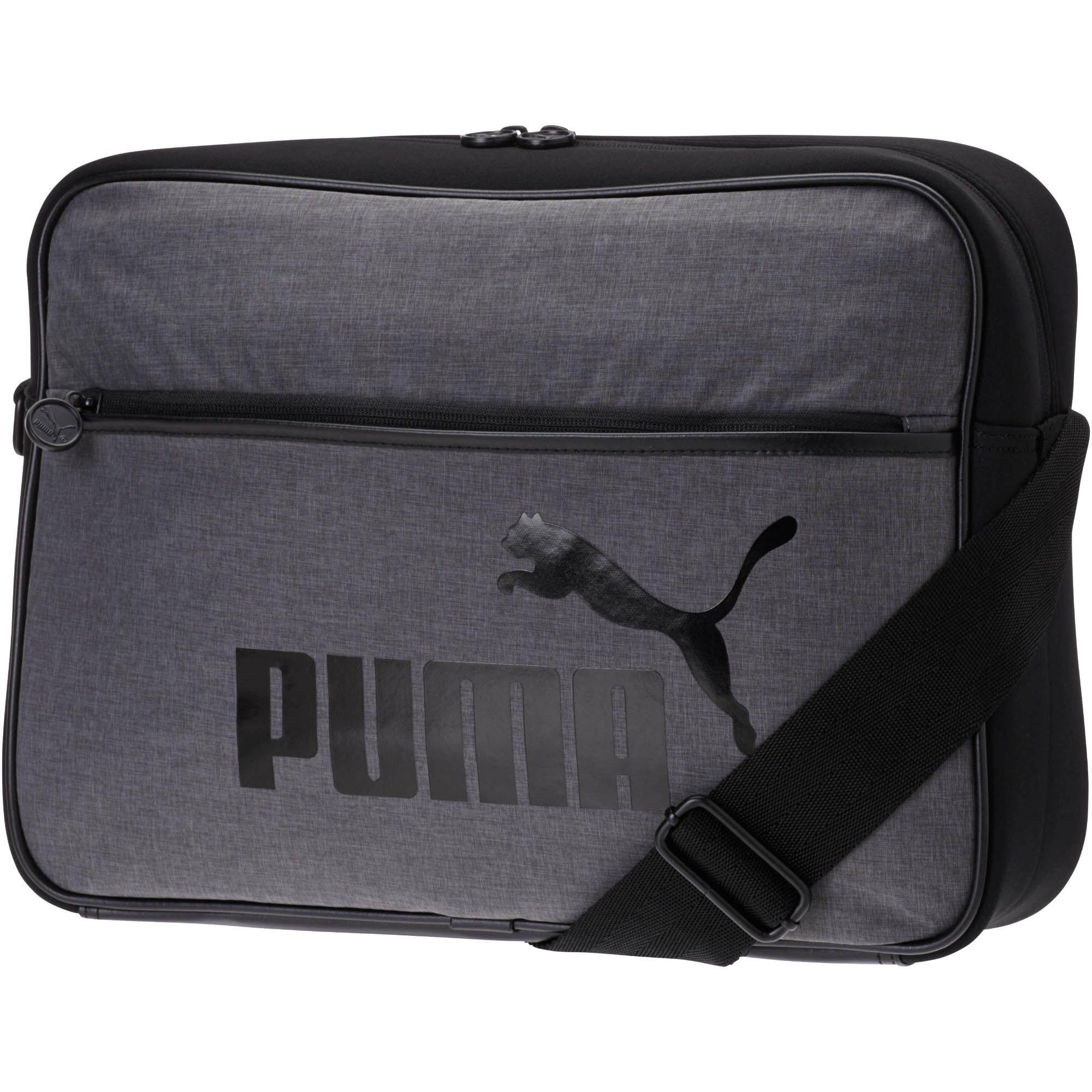 45eb021c4e0 PUMA Heritage Shoulder Bag in Black for Men - Lyst