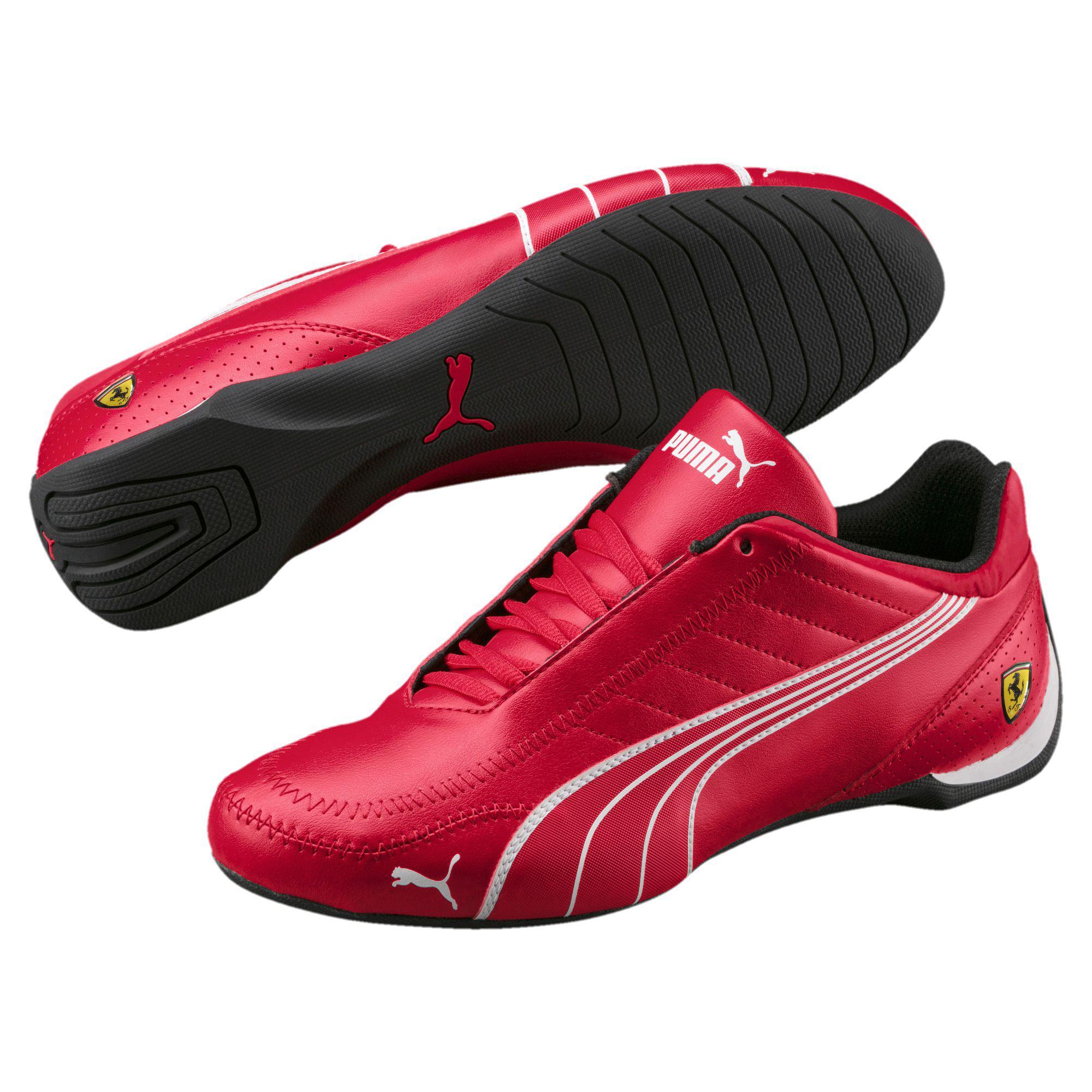 e2113b7f8d2a Lyst - PUMA Ferrari Future Cart Cat Men s Motorsport Shoes in Red ...