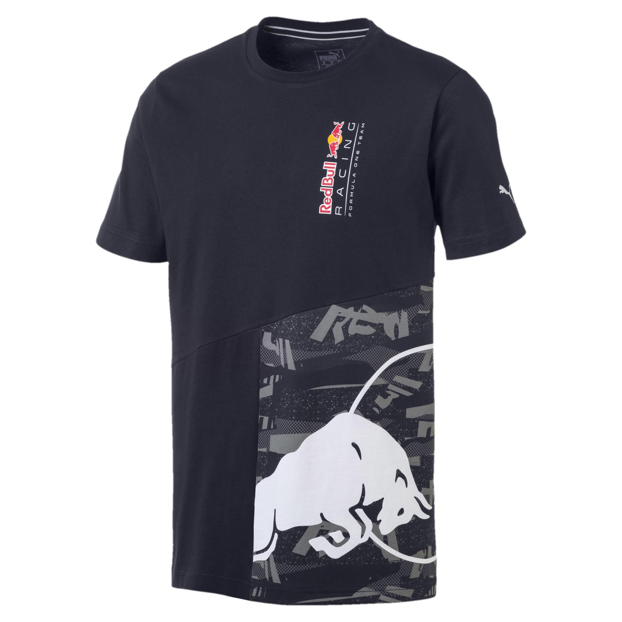 28820dba1 Lyst - PUMA Red Bull Racing Double Bull Tee in Blue for Men