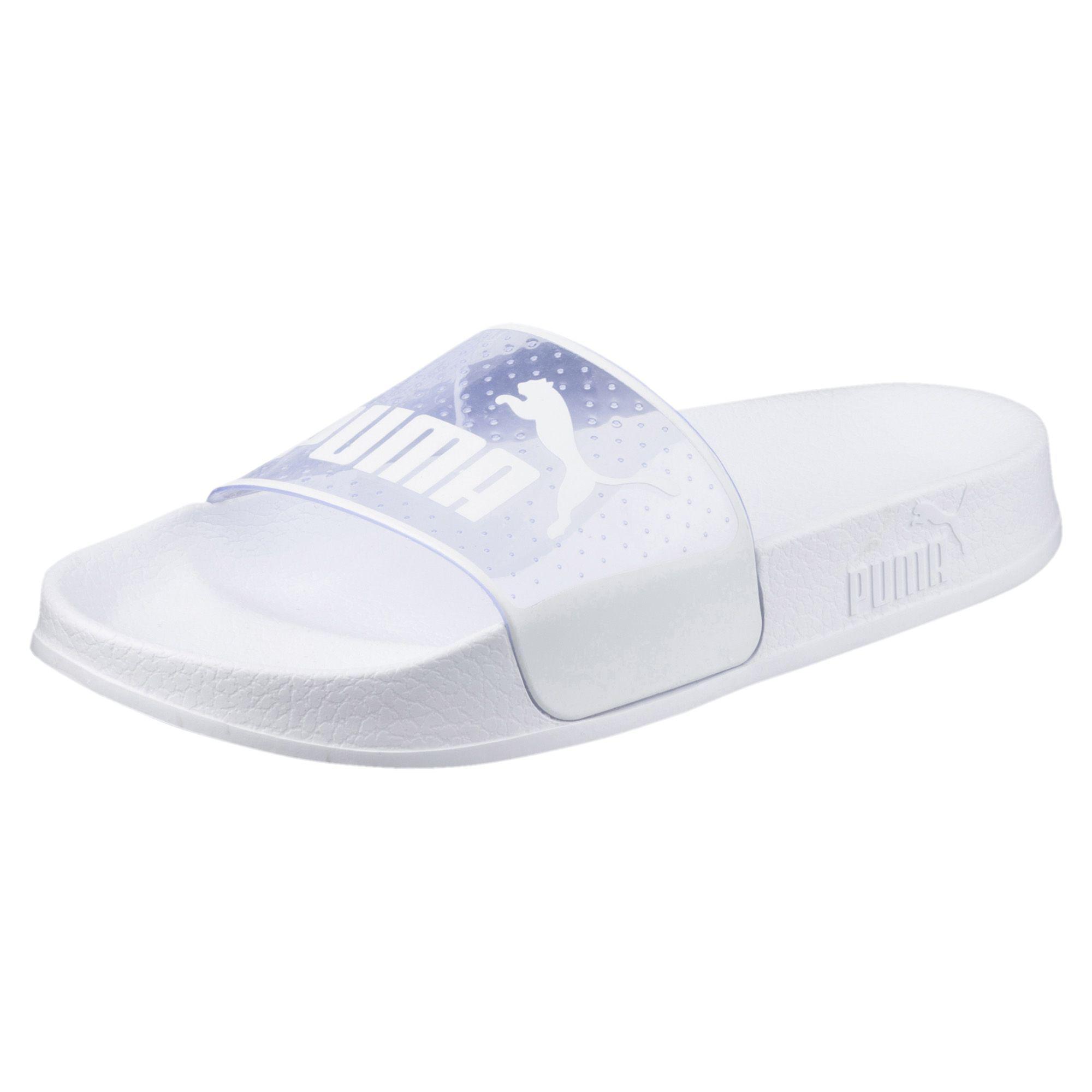 ca63029ff5cc ... Lyst - Puma Leadcat Jelly Women s Slide Sandals in White ...