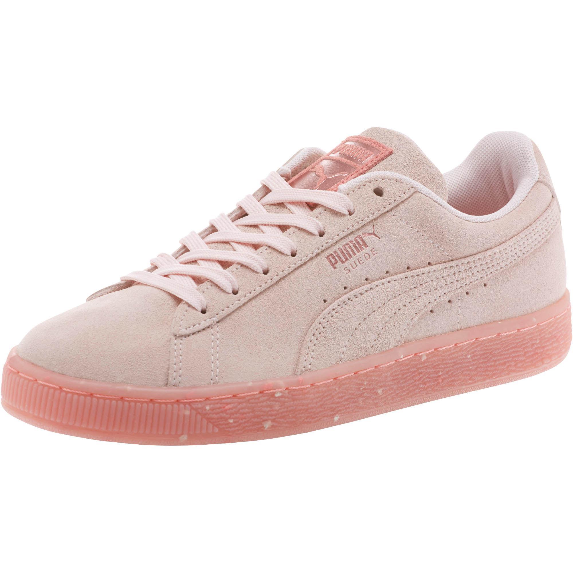 Lyst Puma Suede Classic Glitz Women S Sneakers In Pink