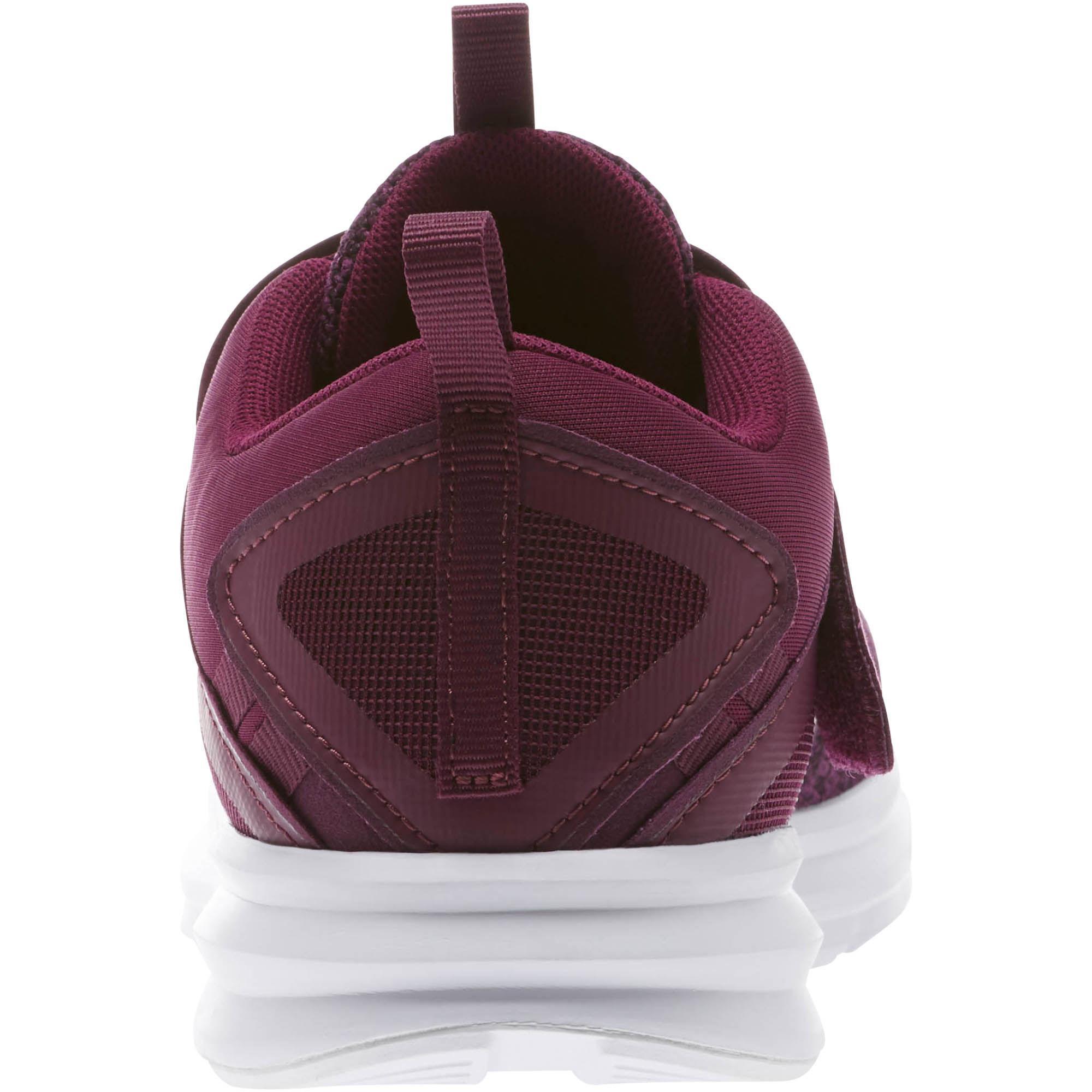 Lyst - PUMA Enzo Strap Knit Women s Running Shoes in Purple 650edbd3f