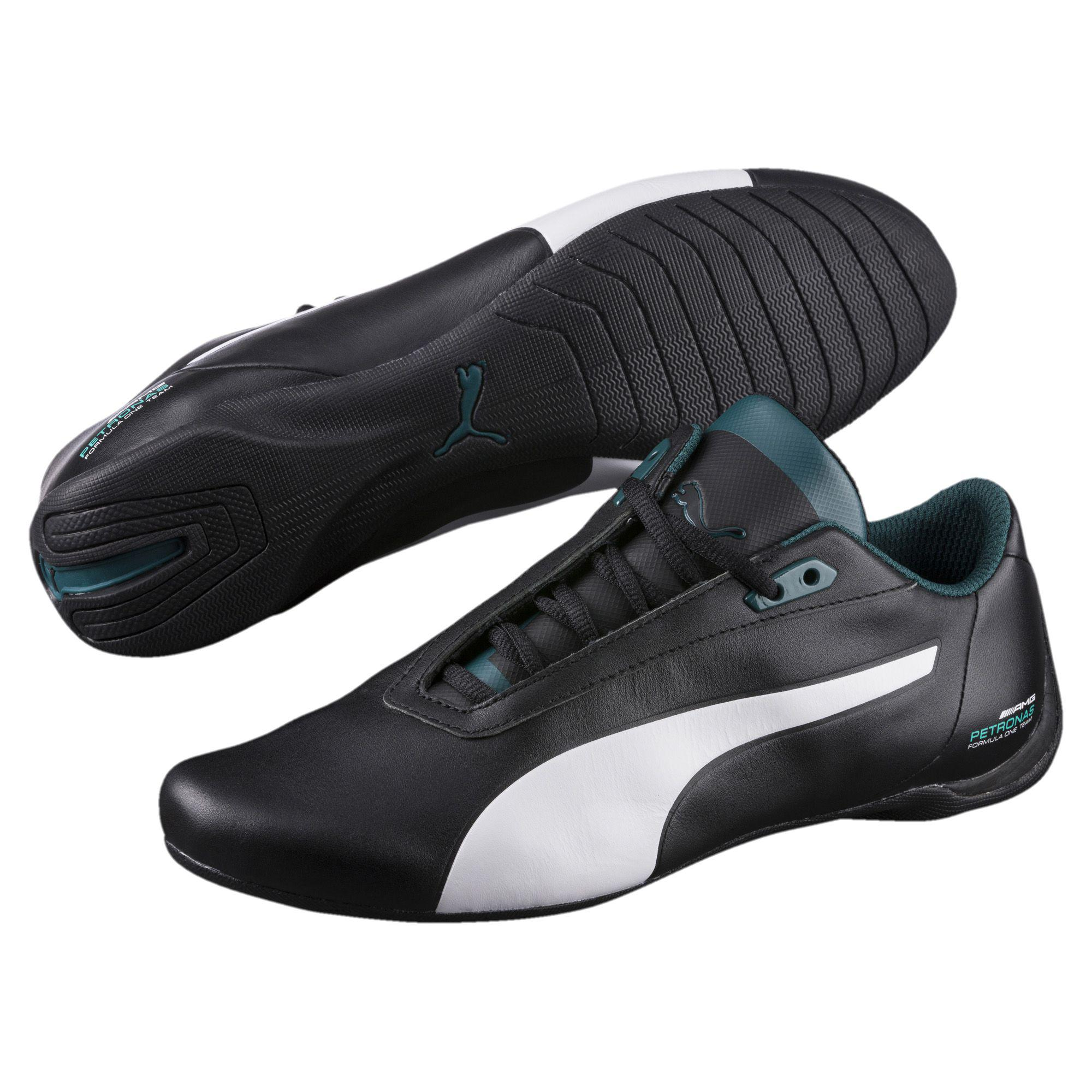 a971bcc1f0e8ad Lyst - PUMA Mercedes Future Cat Men s Shoes in Black for Men