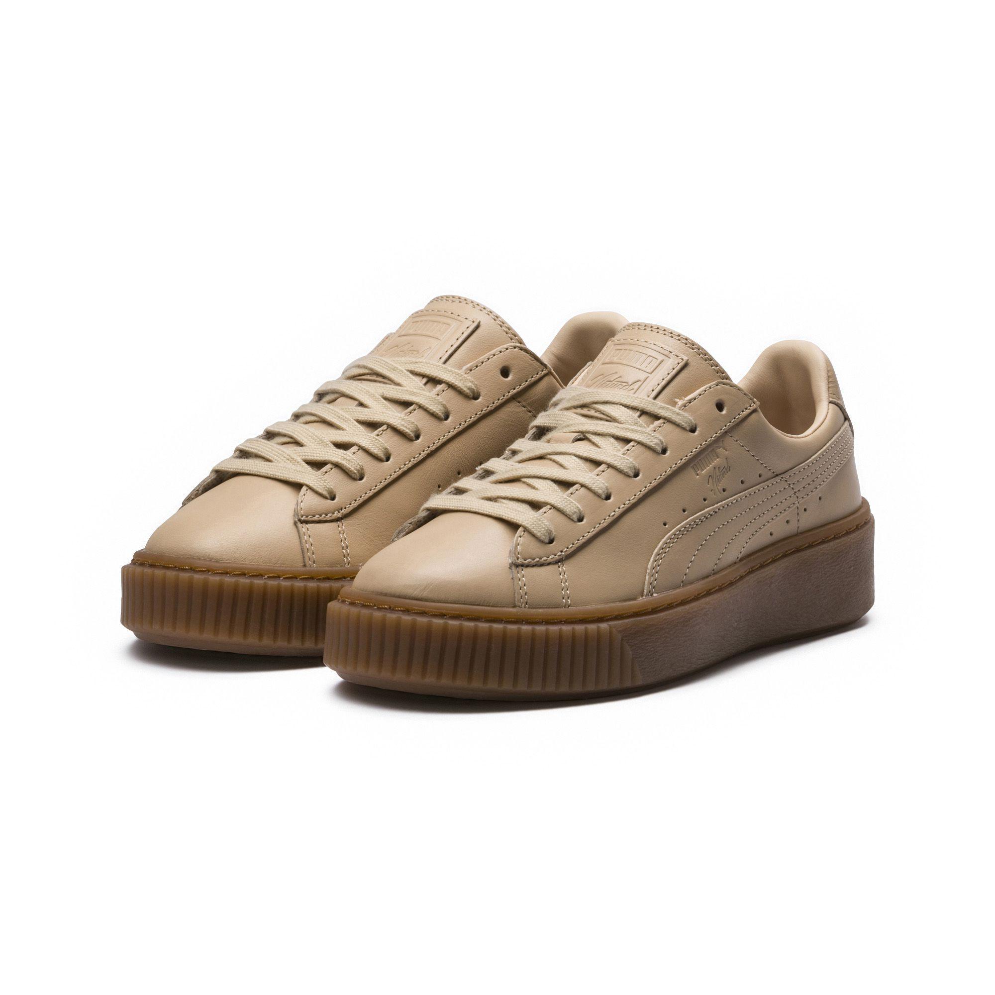 8deee70fc53ae1 Lyst - PUMA X Naturel Platform Veg Tan Women s Sneakers in Brown