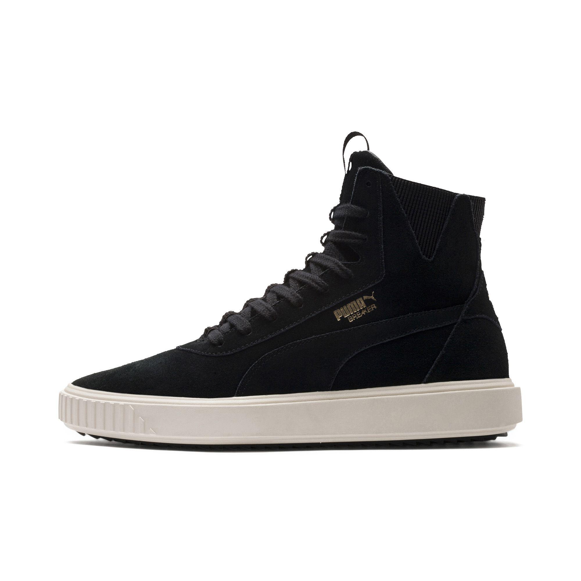 e4d88d846d3 Lyst - PUMA Breaker Hi Evolution Sneakers in Black for Men