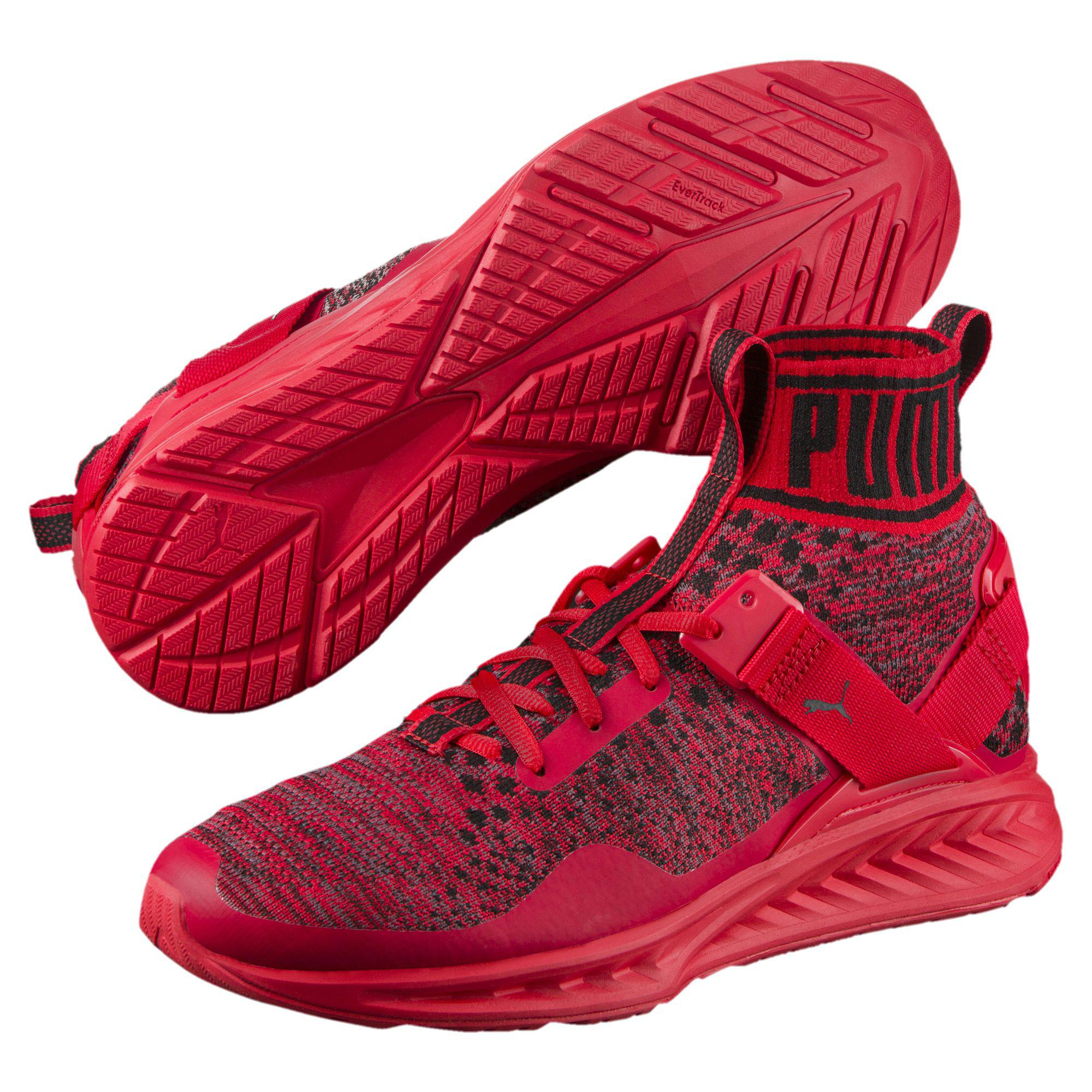 a1762c7caba Lyst - PUMA Ignite Evoknit Men s Training Shoes in Red for Men