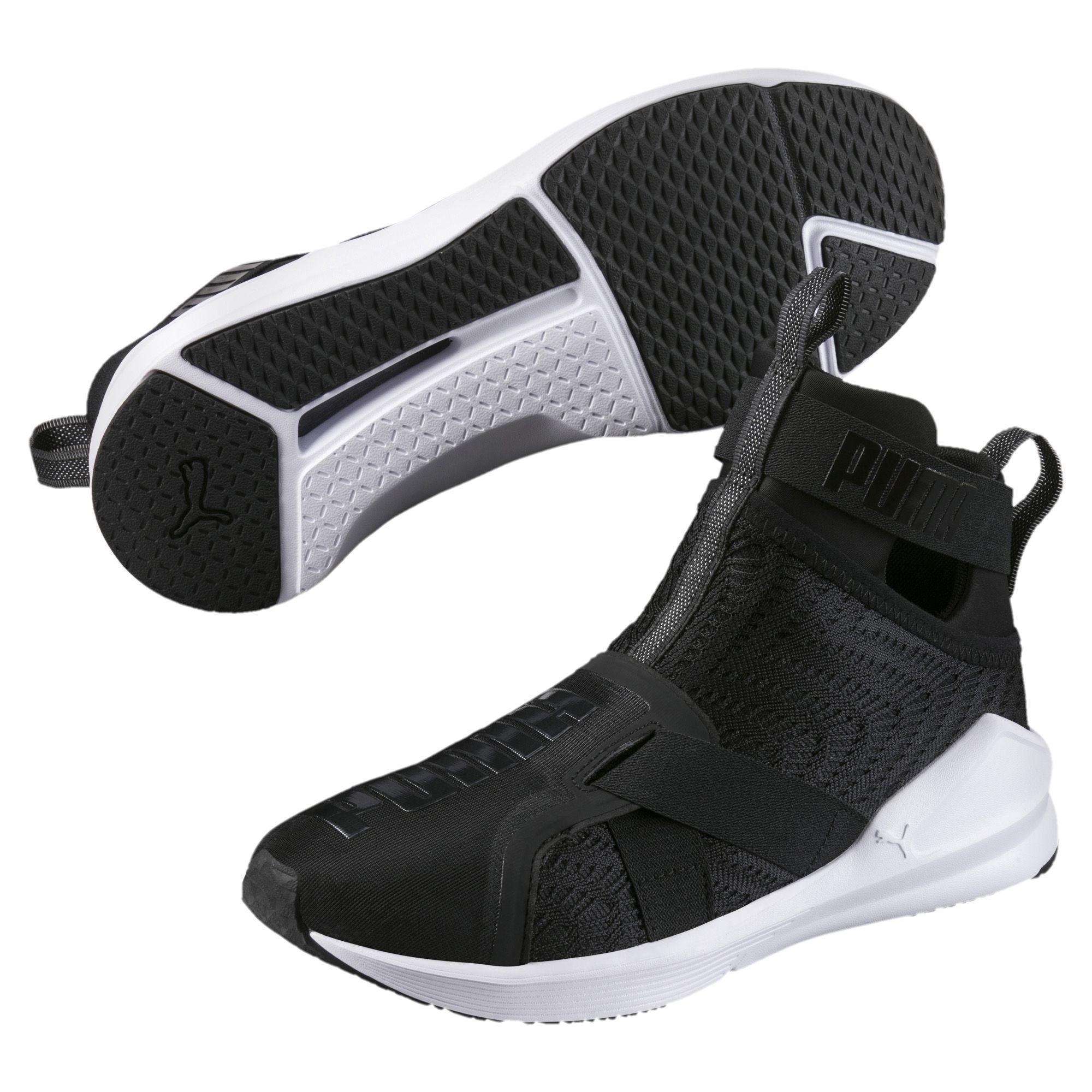 32d2c8eed73 Lyst - PUMA Fierce Strap Swirl Women s Training Shoes in Black