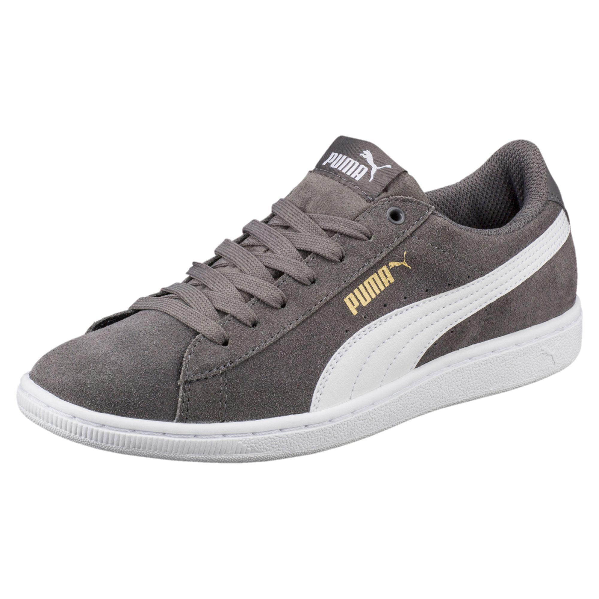 PUMA - Gray Vikky Softfoam Women s Sneakers - Lyst. View fullscreen 8d3287474