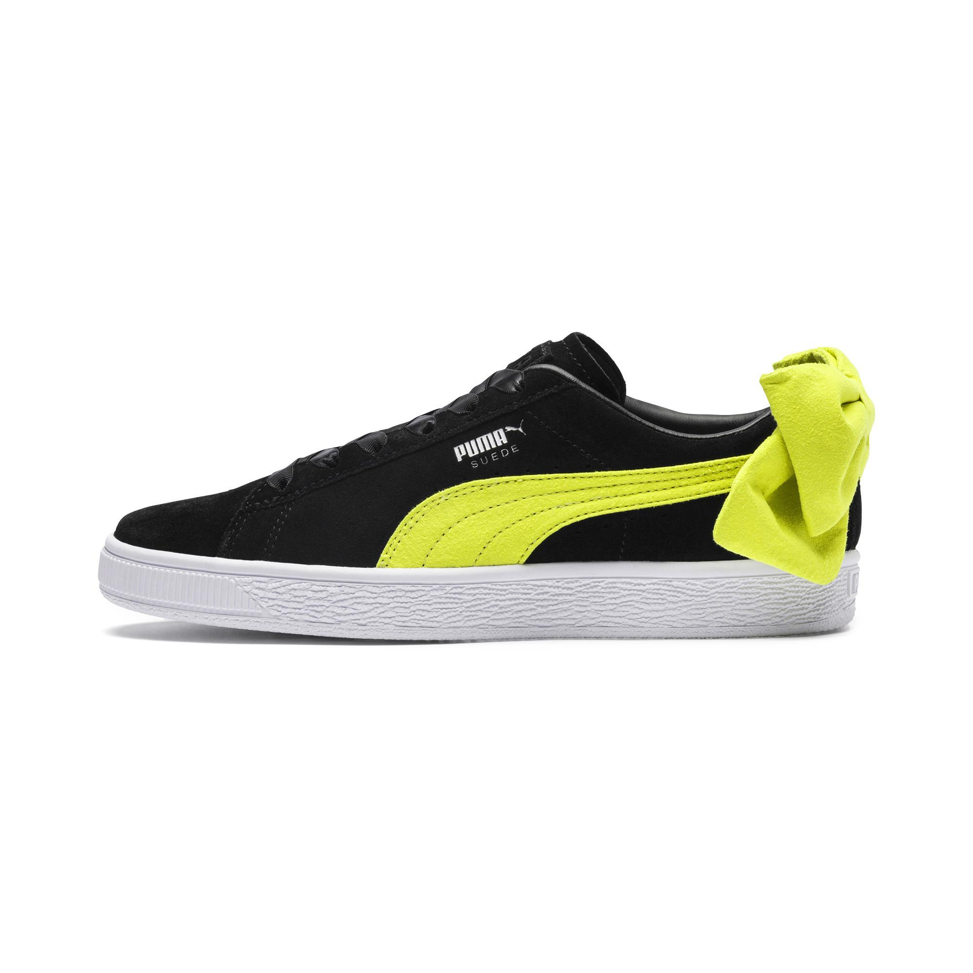 Lyst - PUMA Suede Bow Block Women s Sneakers - Save 51% 9b7dd2bc7d