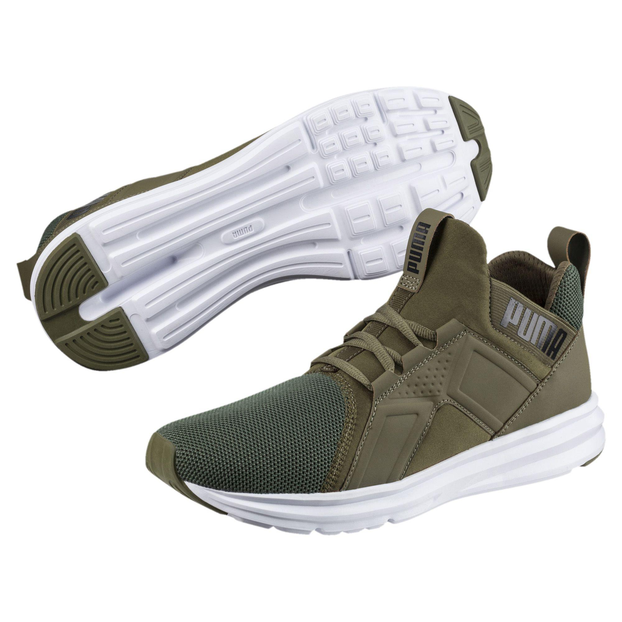 f496597db285 Lyst - PUMA Enzo Mesh Men s Running Shoes in Green for Men