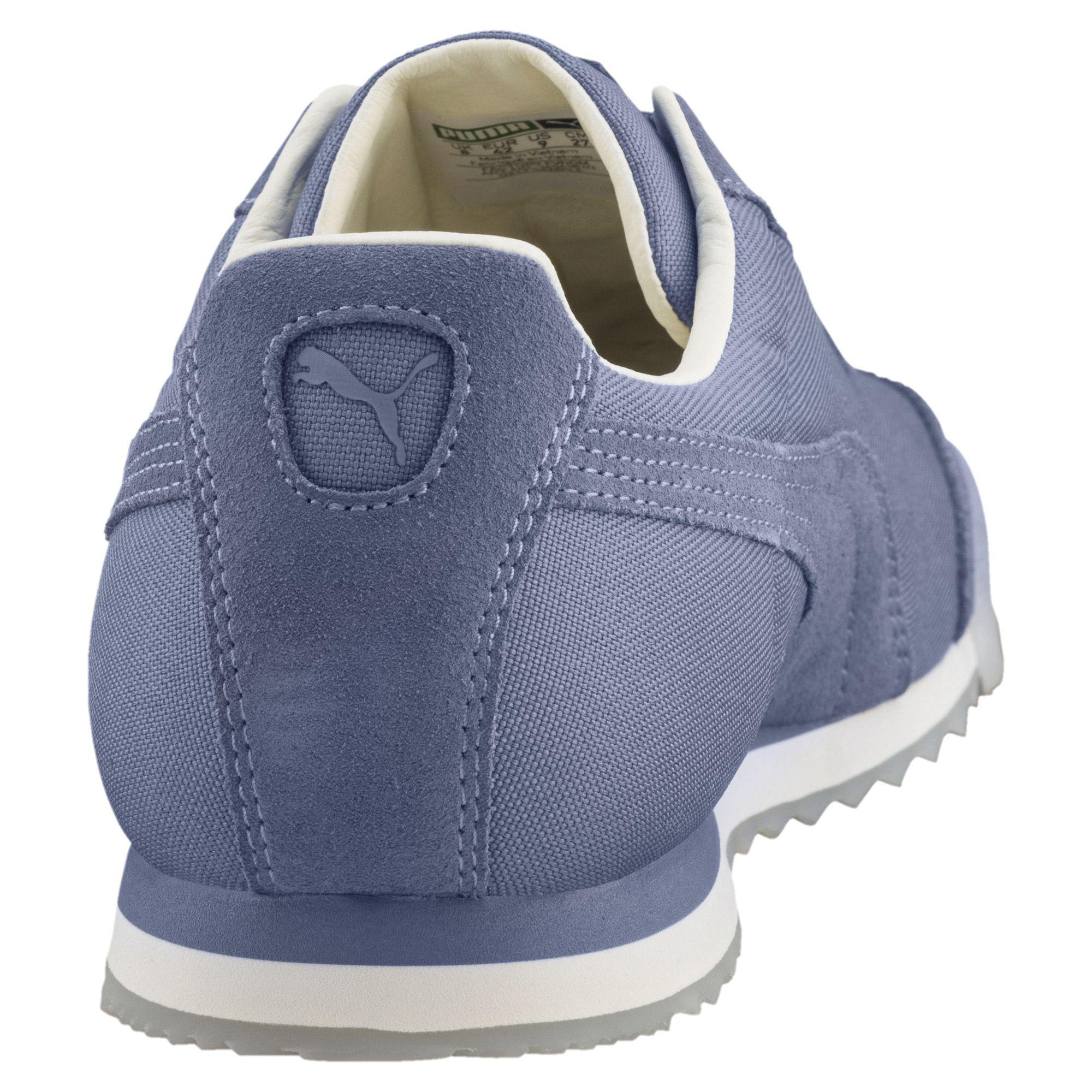 8da1fafaafe Lyst - PUMA Roma Summer Sneakers in Blue for Men