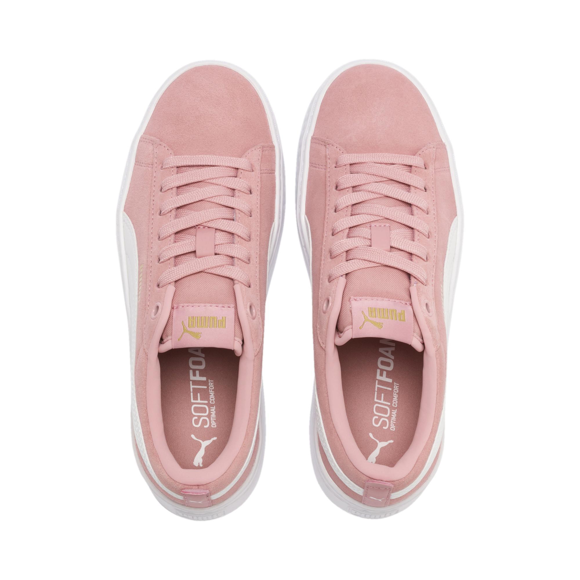 48b11bb4ff8 Pink Smash Platform Suede Women's Sneakers