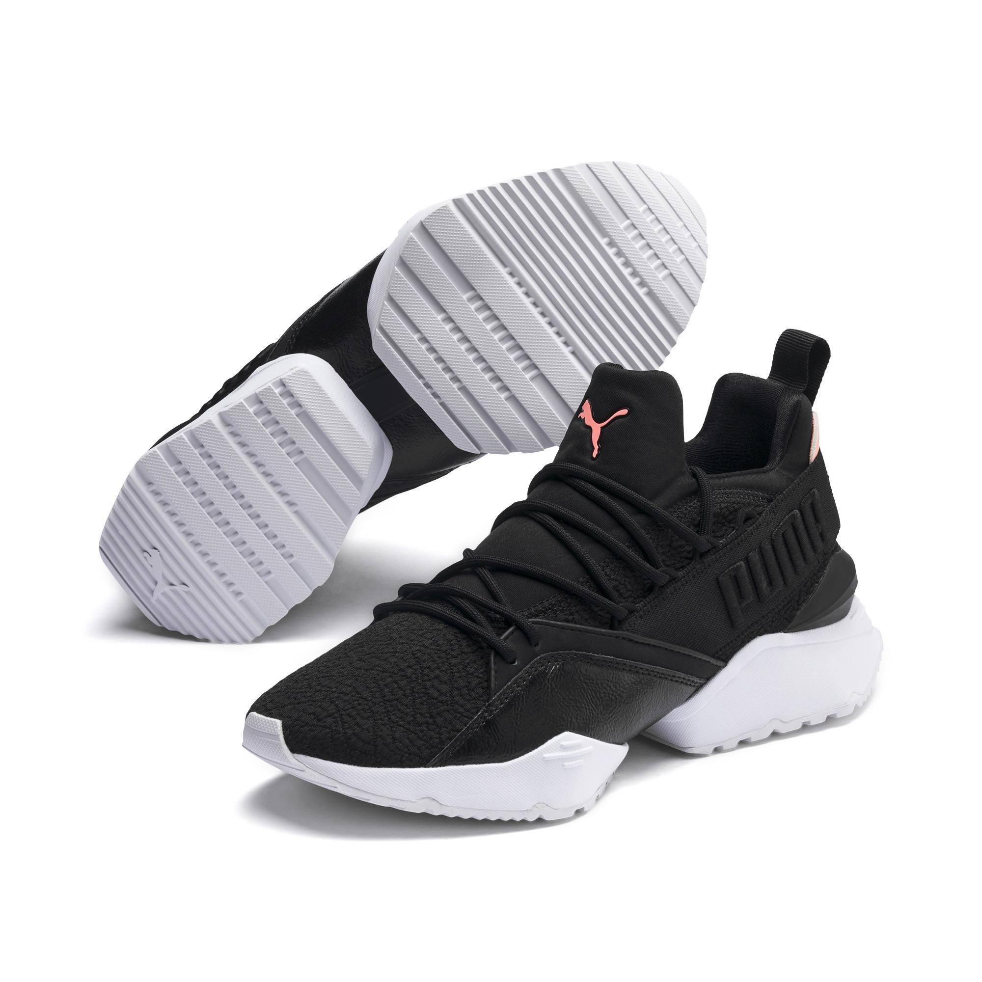 b788d5a492f PUMA - Black Muse Maia Bio Hacking Women s Sneakers - Lyst. View fullscreen