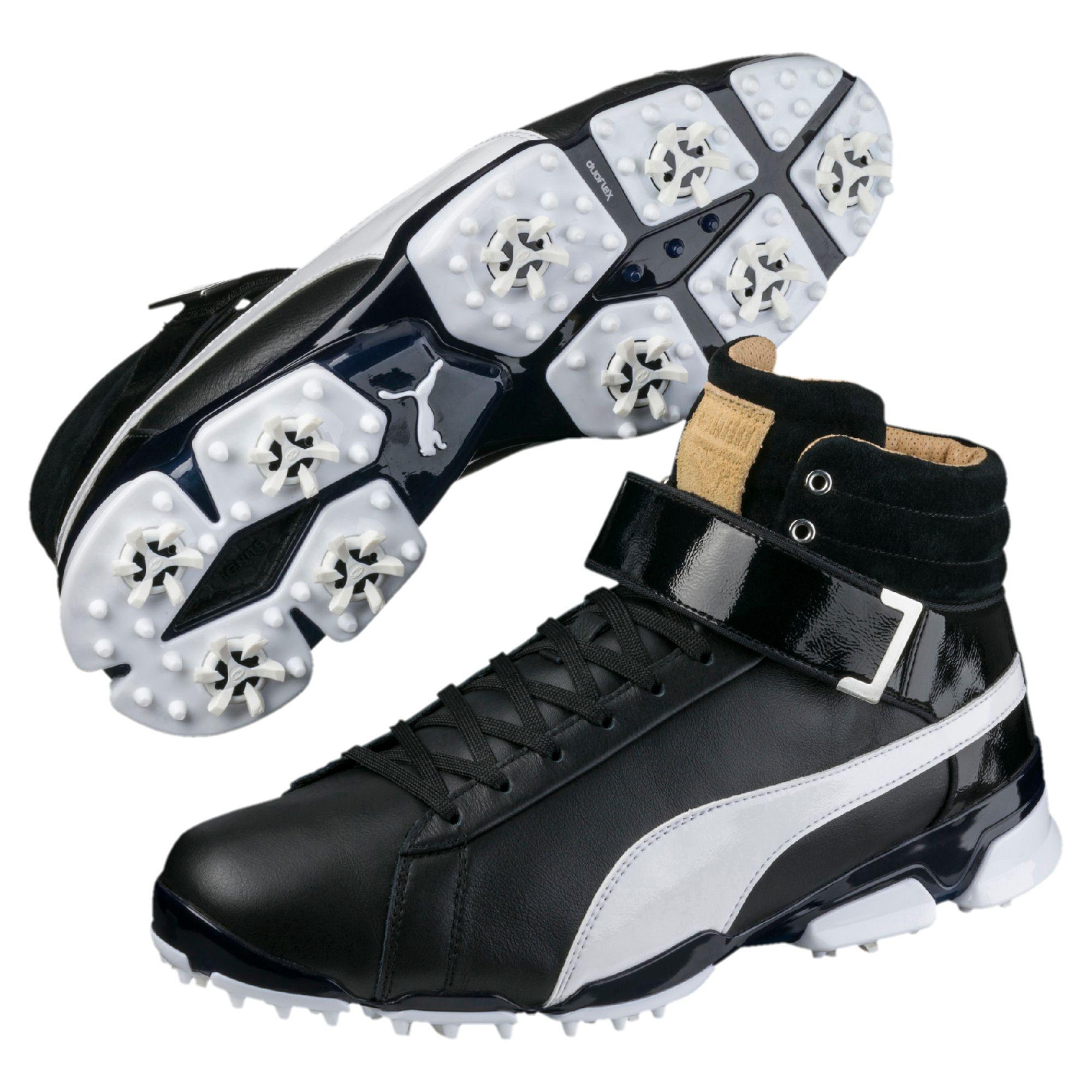 Lyst - PUMA Titantour Ignite High-top Men s Golf Shoes in Black for Men 622da0bc9