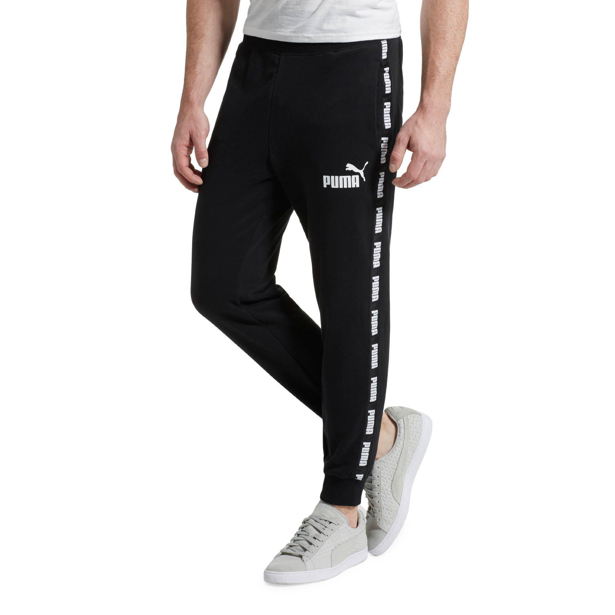 f9bd444edaf2 Lyst - PUMA Power Rebel Sweat Pants in Black for Men