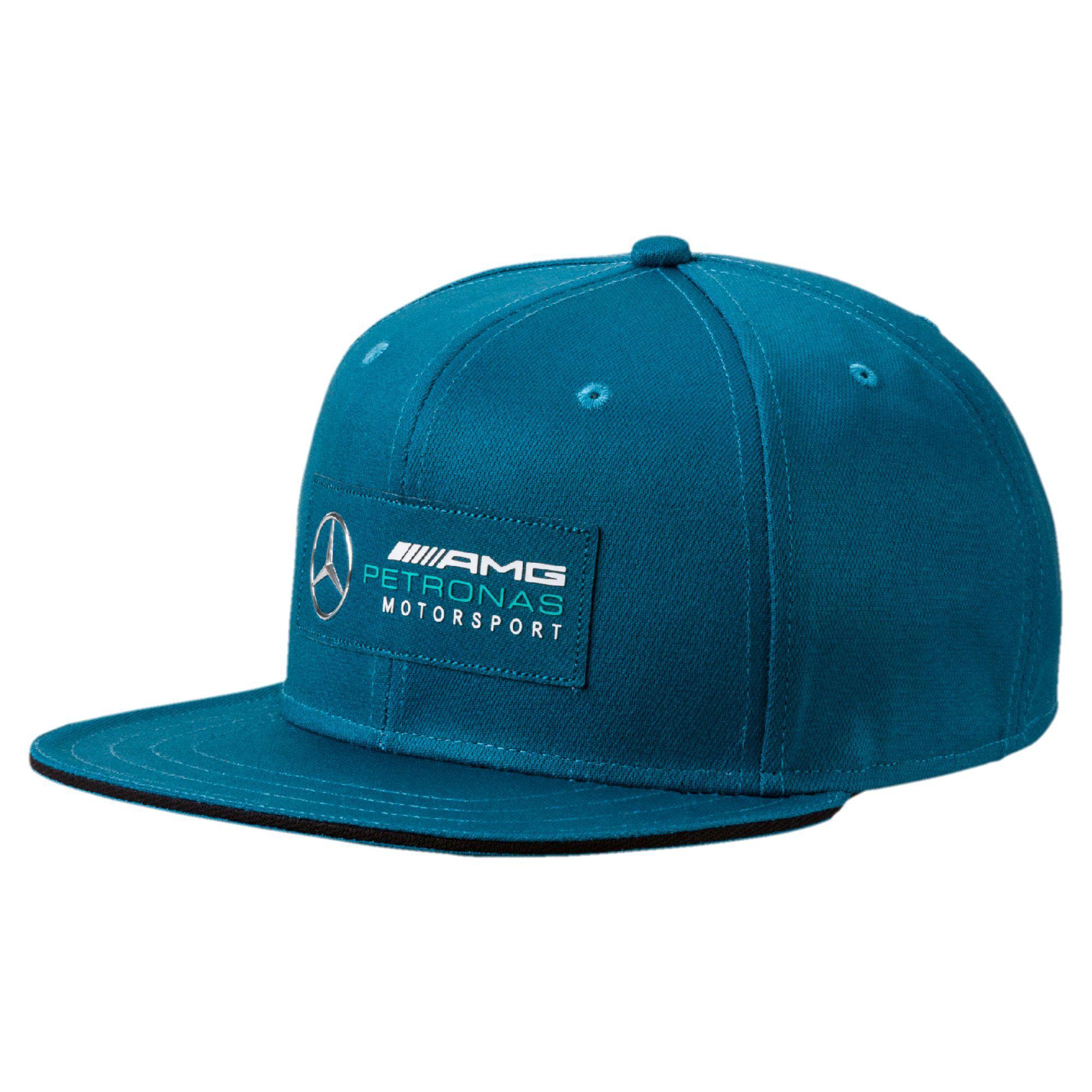 Lyst - PUMA Mercedes Amg Petronas Motorsport Flatbrim Hat in Blue ... 316a2f400023