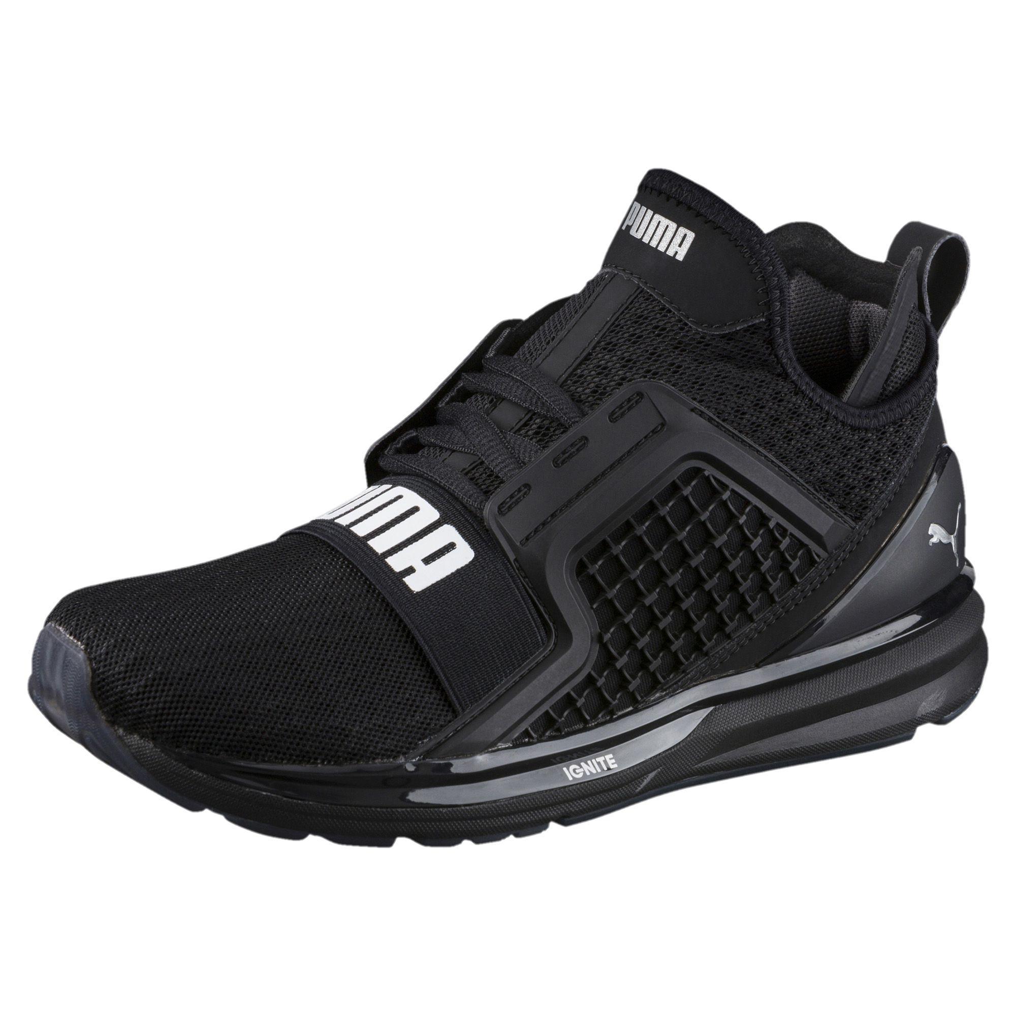 6a42b2e200f Lyst - PUMA Ignite Limitless Women s Training Shoes in Black