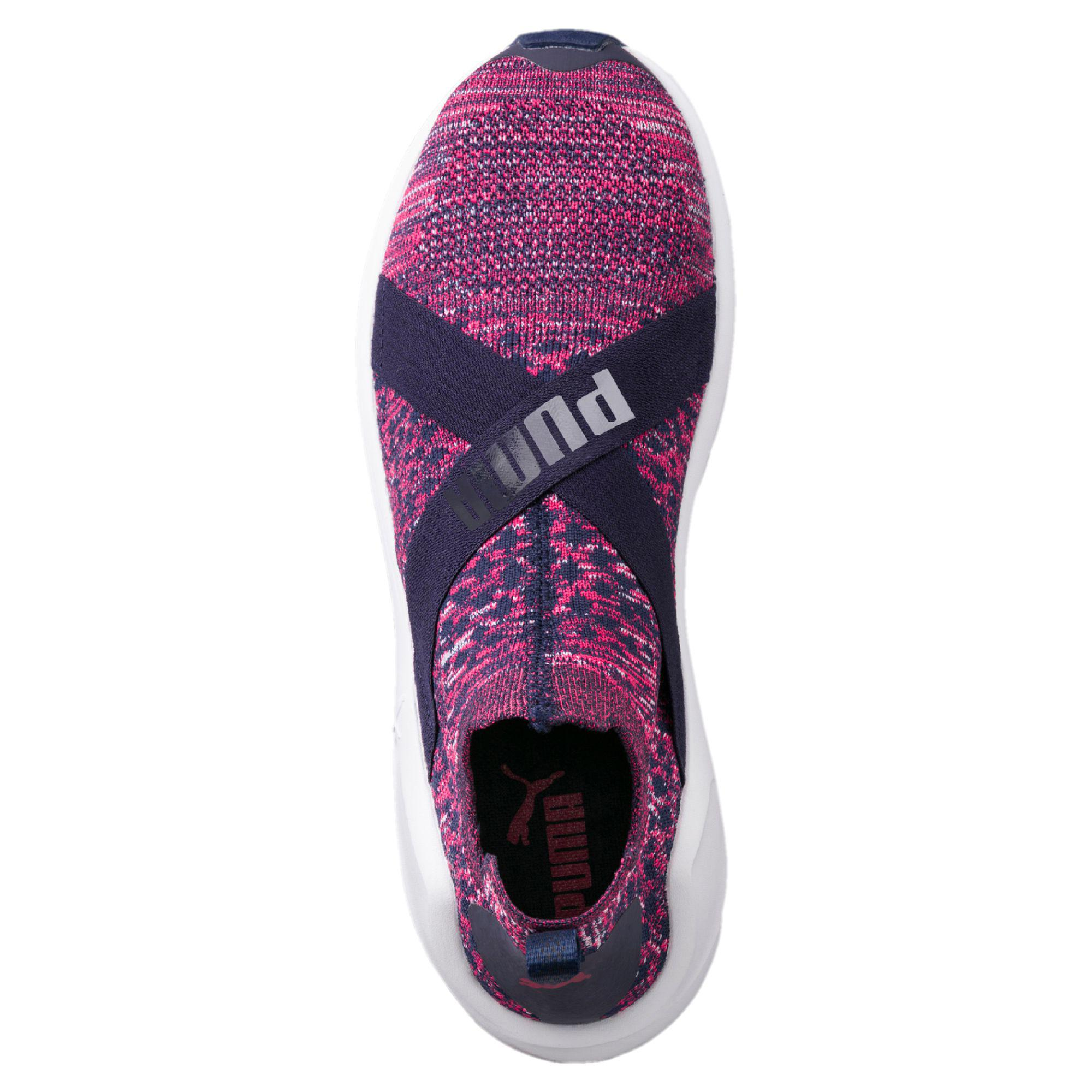 Lyst - PUMA Fierce Evoknit Women s Training Shoes in Purple ff983cc54