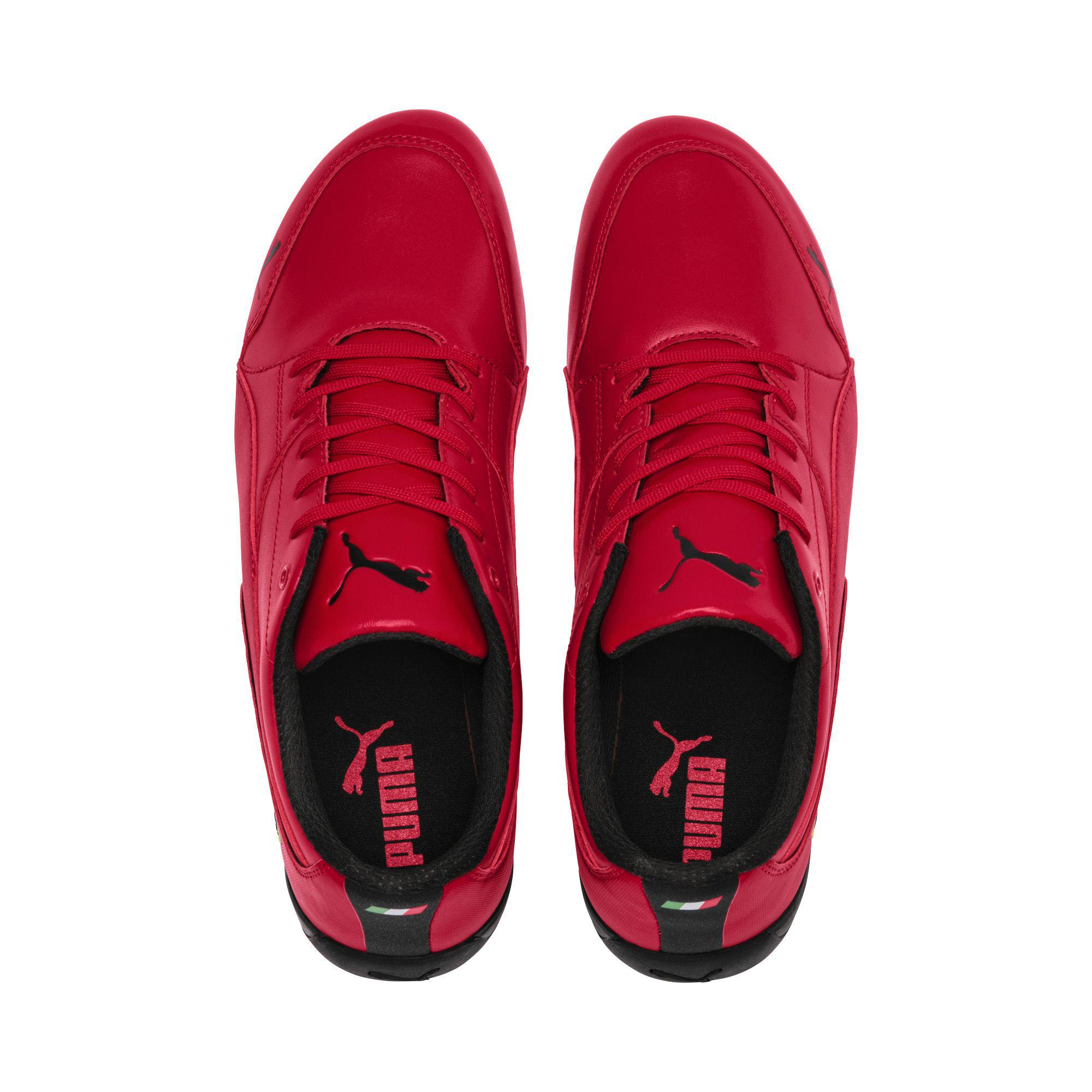 Lyst - PUMA Ferrari Drift Cat 7 Sneakers in Red for Men 0d4587408