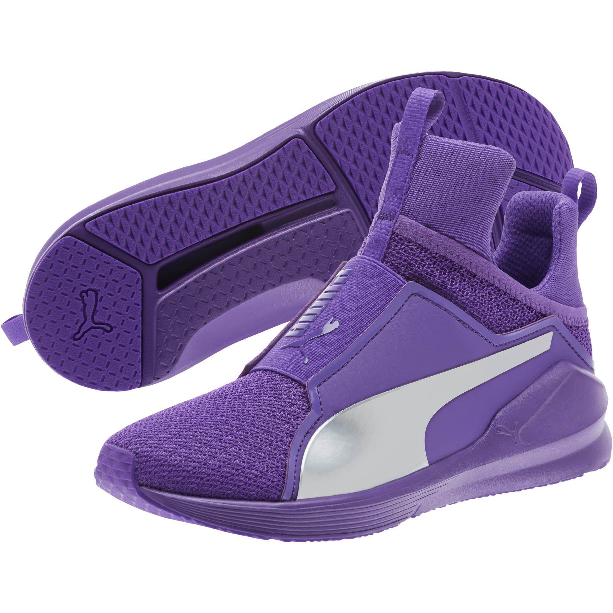 4a6dbf38d4a4 Lyst - PUMA Fierce Culture Surf Women s Training Shoes in Purple