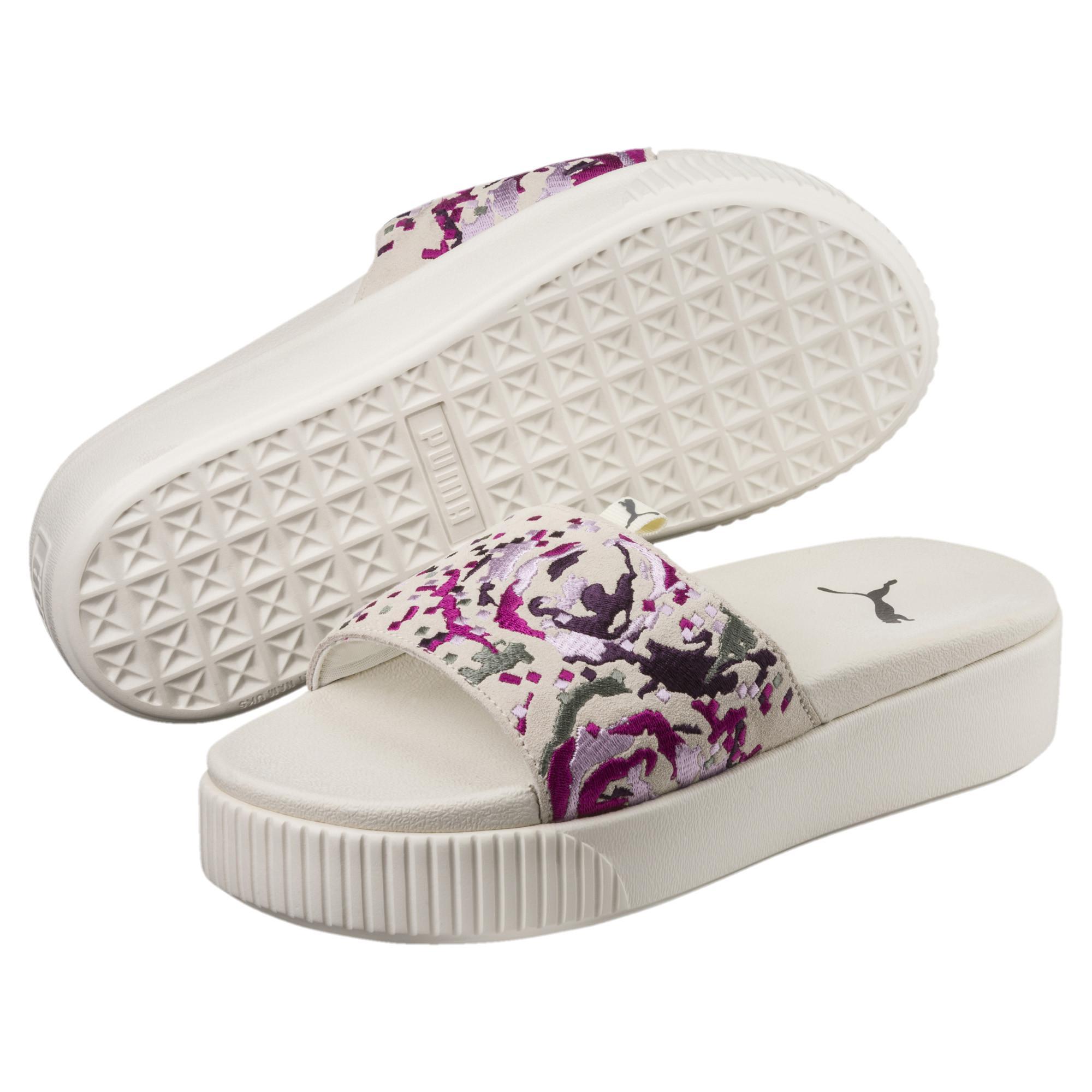 3eaa0680e269 Lyst - PUMA Platform Slide Digital Embroidery Women s Sandals