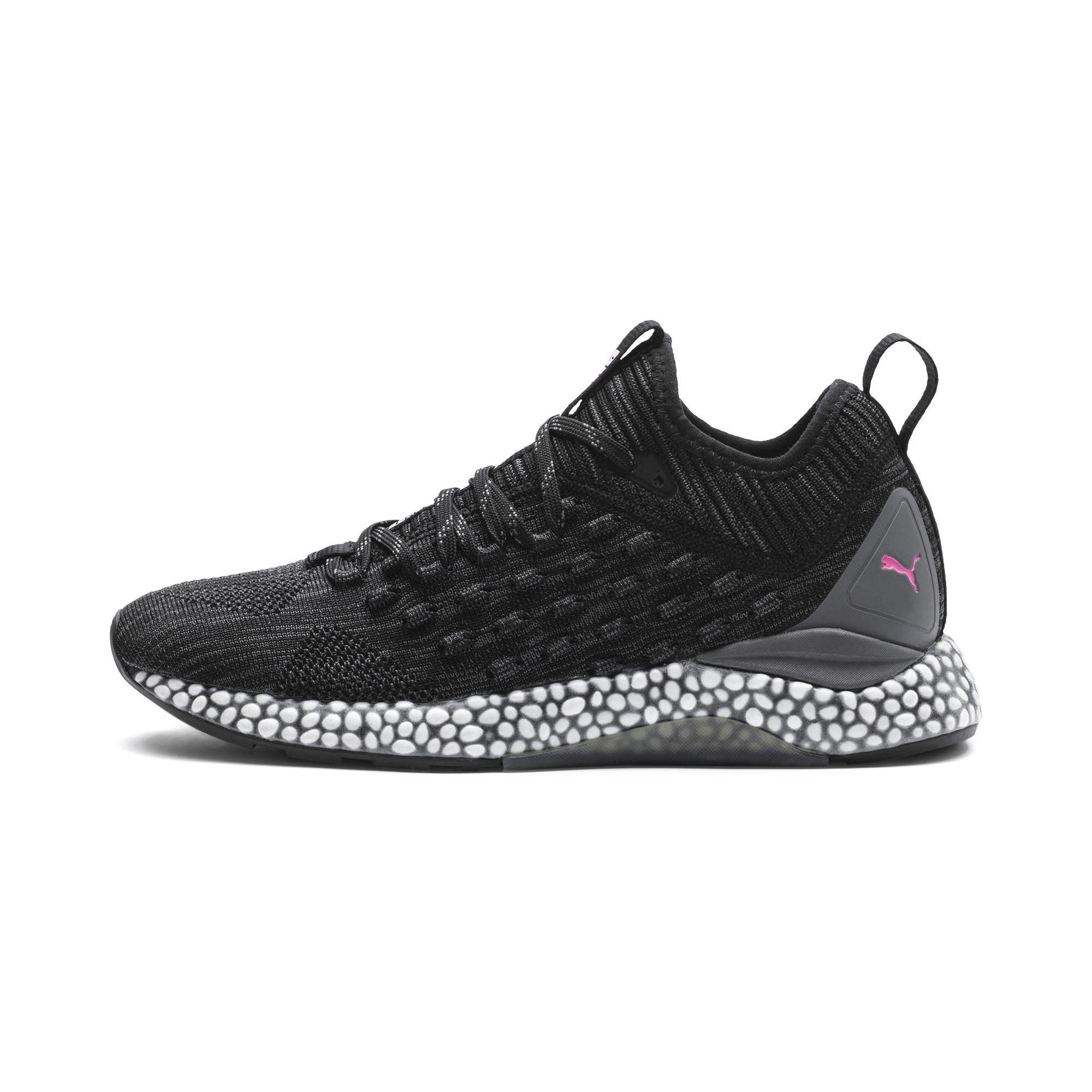 5babbae549c8be Lyst - PUMA Hybrid Runner Fusefit Women s Running Shoes in Black ...