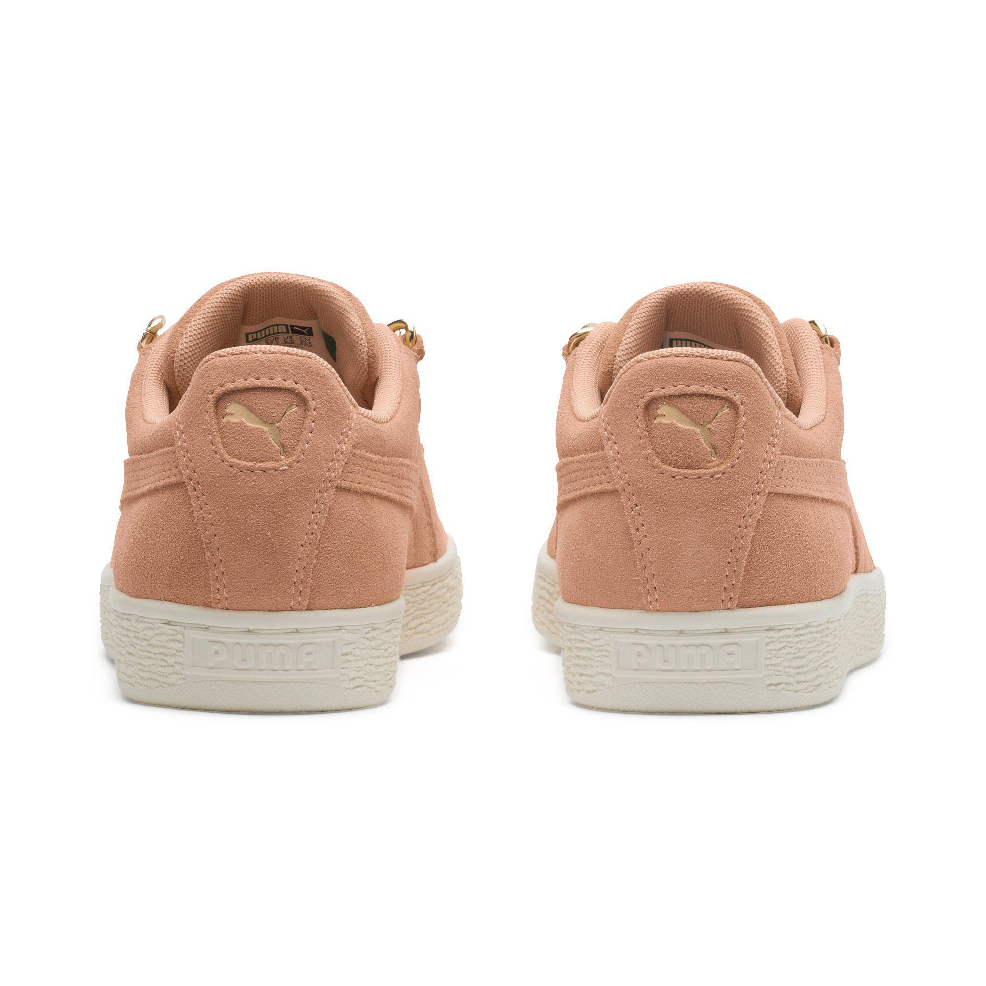 baa85738859 Lyst - PUMA Suede Classic Chain Women s Sneakers