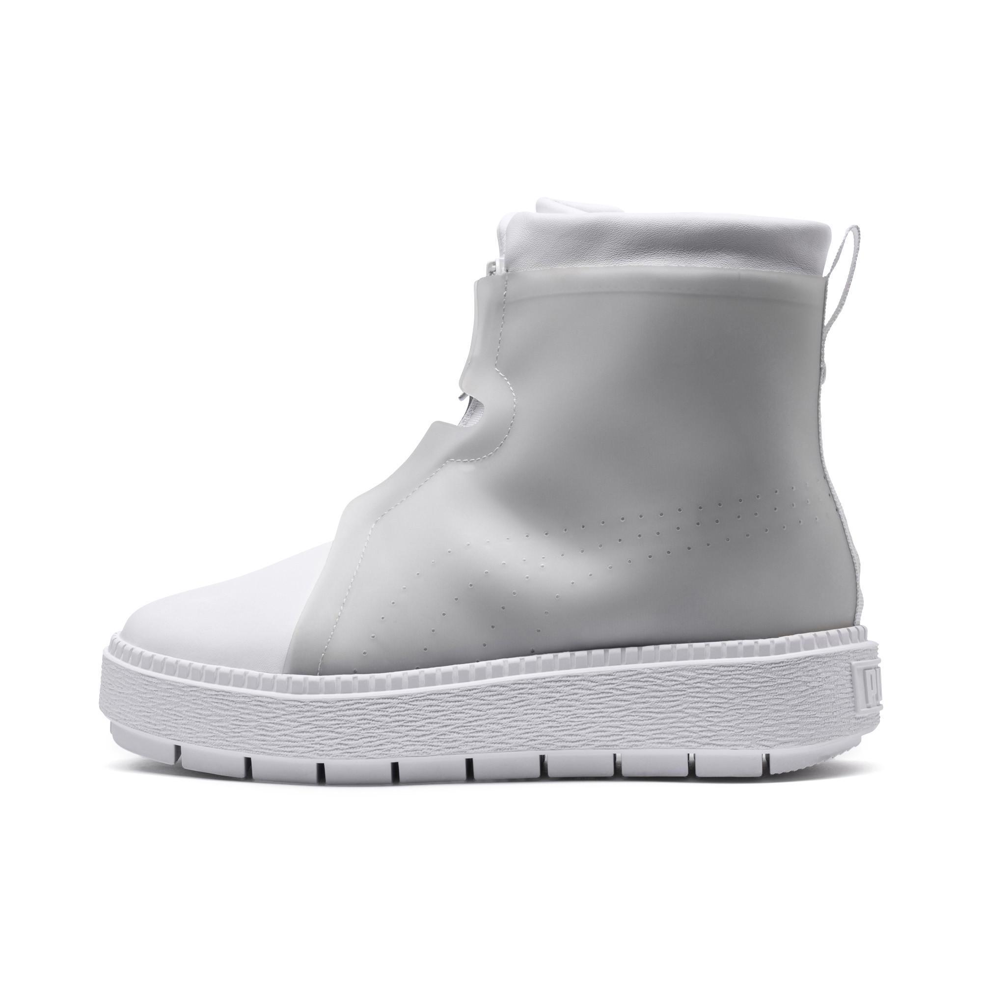 34b64f1d53ac Lyst - PUMA Platform Trace Women s Rain Boots in Gray