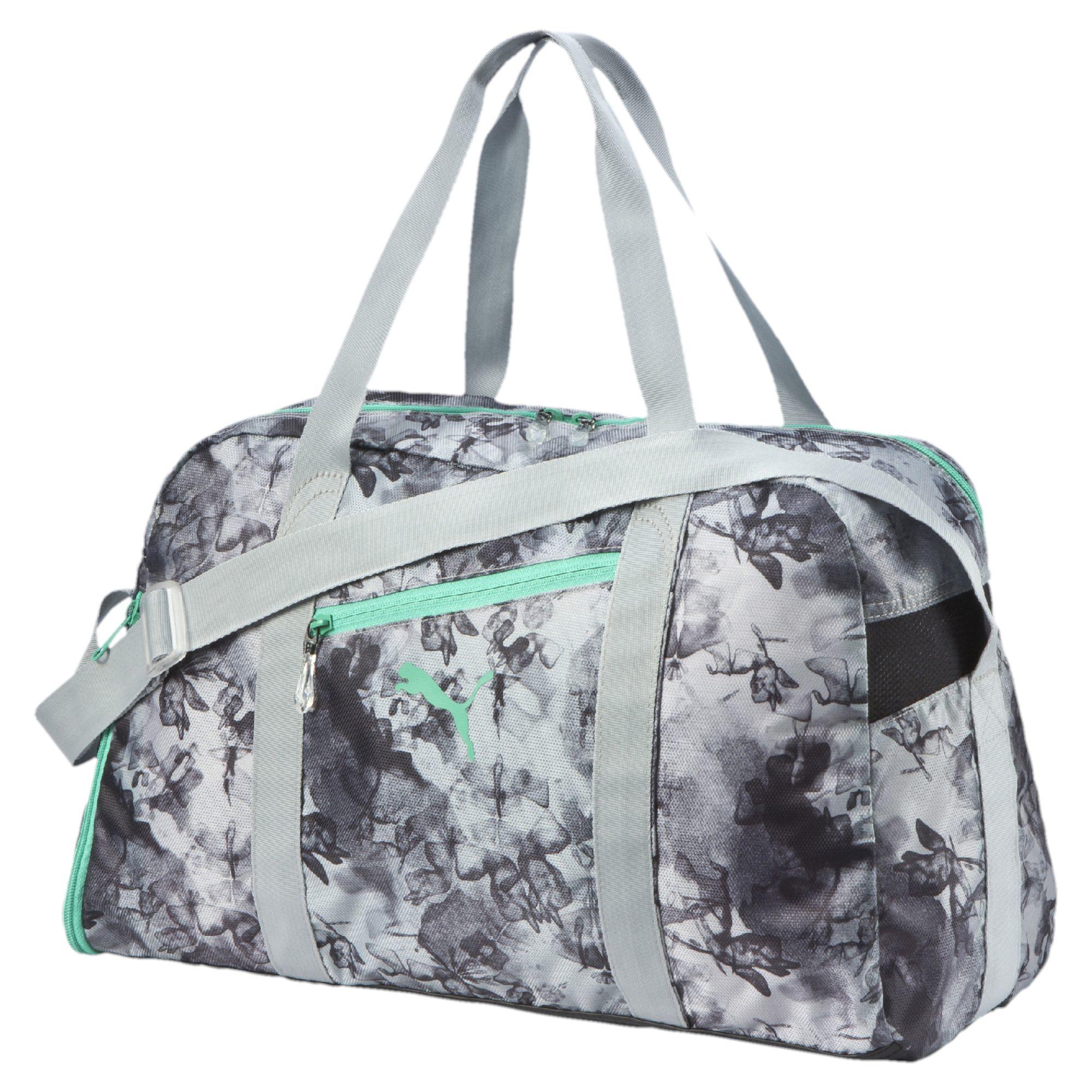 fc8bce149179 Lyst puma fit at sports duffel bag in gray jpg 2000x2000 Workout bags puma  small