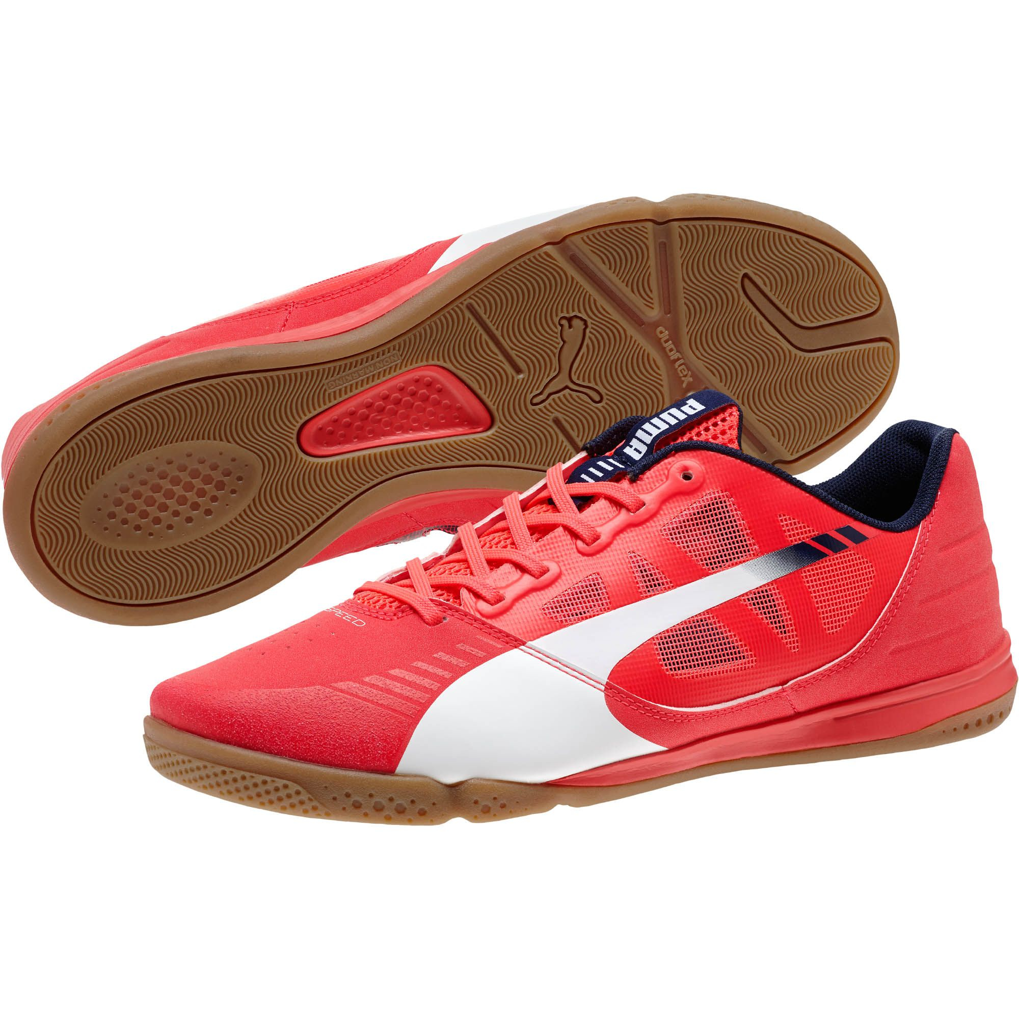 b8d9578b23bc PUMA Evospeed Sala Men's Indoor Soccer Shoes in Red for Men - Lyst