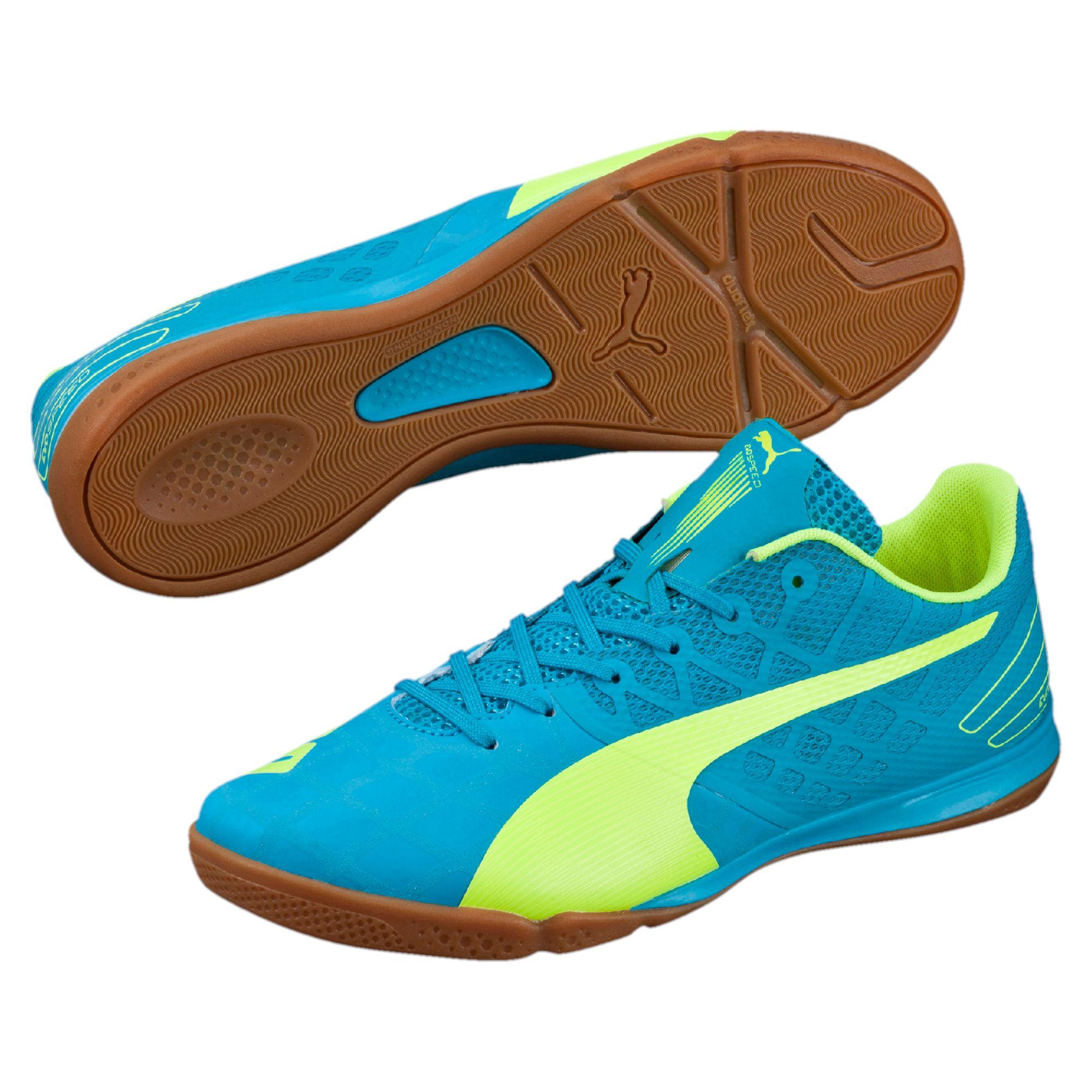b0fb34f8a027 PUMA Evospeed Sala 3.4 Men's Indoor Soccer Shoes in Blue for Men - Lyst