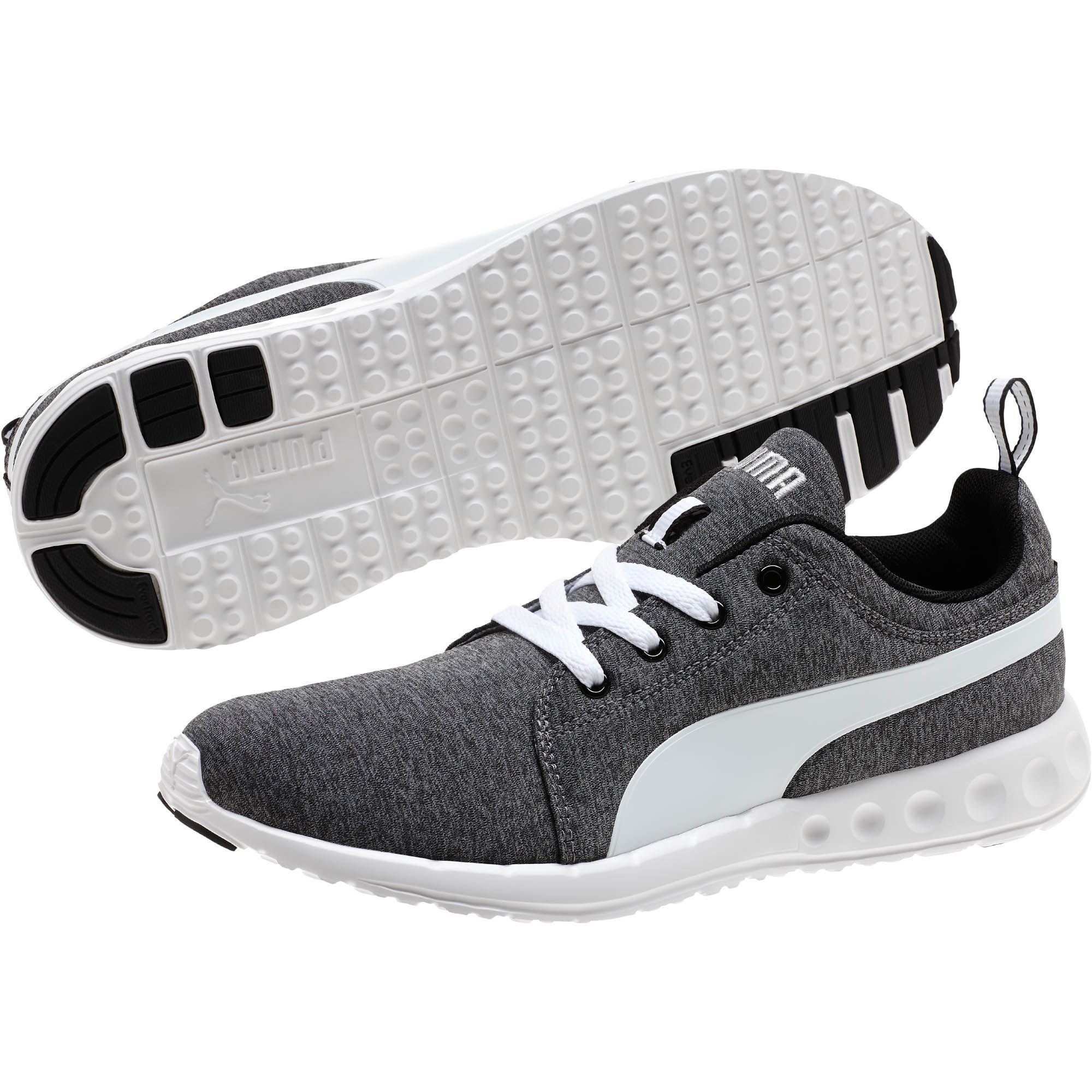 b4a644552746a6 Lyst - PUMA Carson Runner Heather Men s Running Shoes in Gray for Men