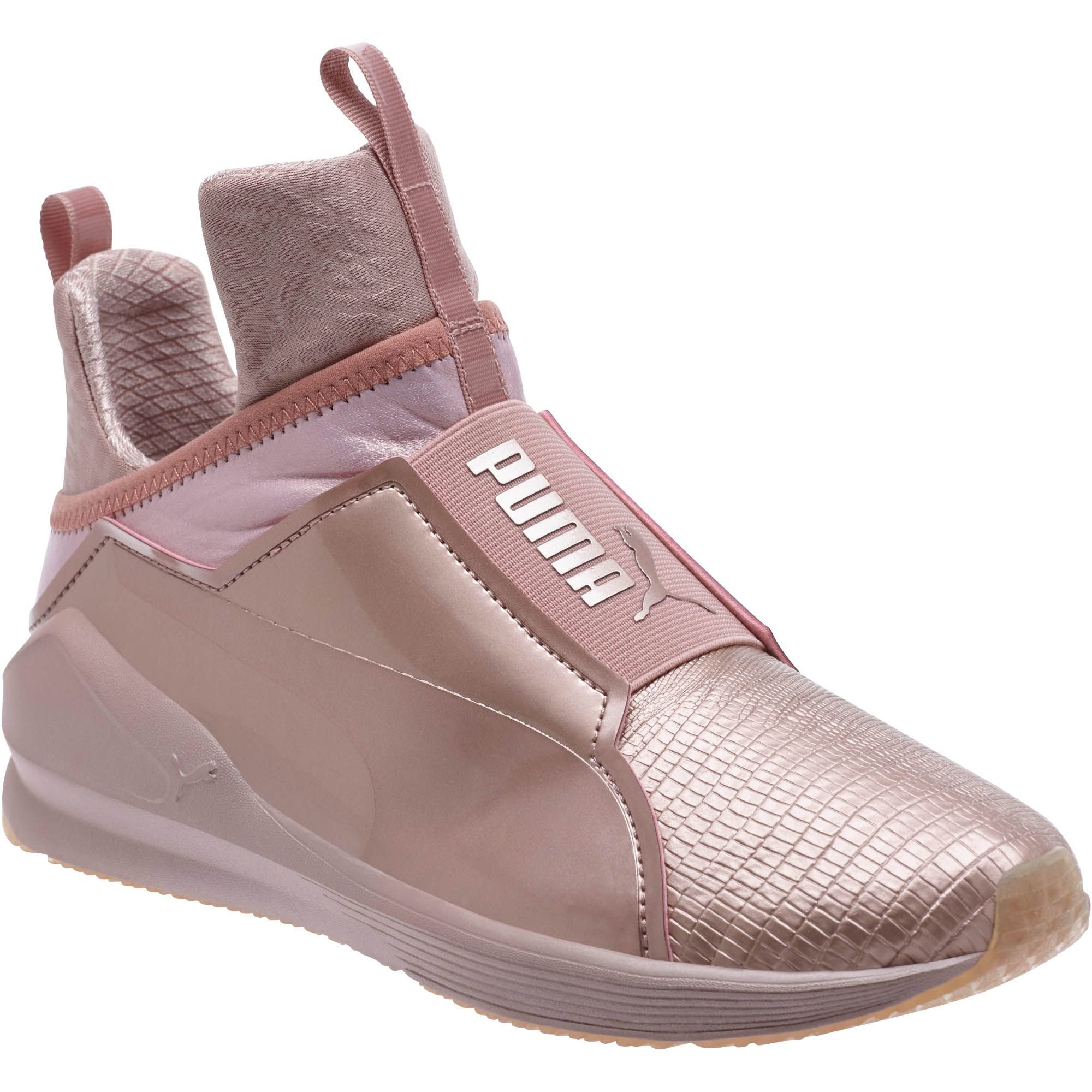 a2273abe5df9 Lyst - PUMA Fierce Metallic Women s Training Shoes in Pink