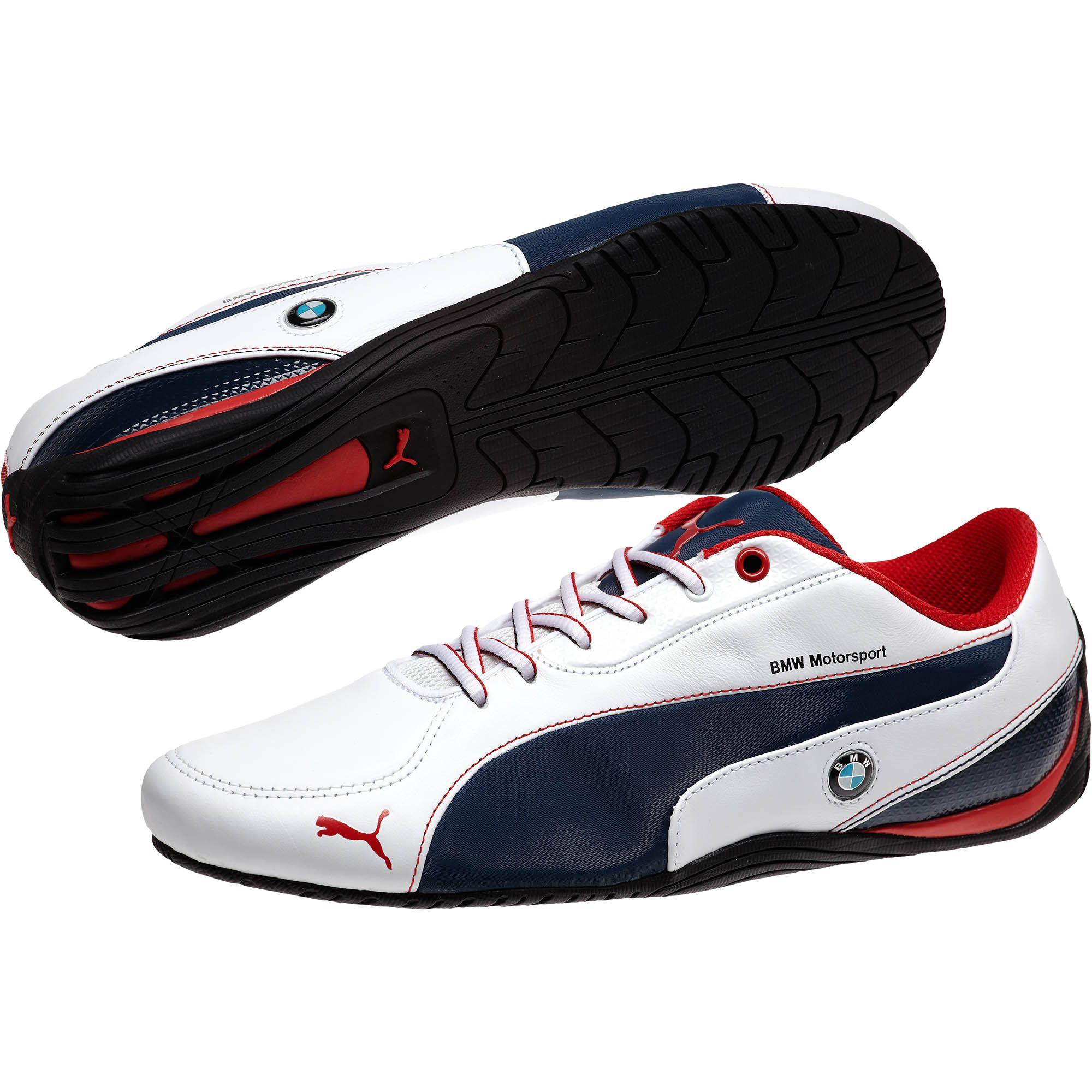 eed20e32c0f2 Lyst - Puma Bmw Drift Cat 5 Leather Men s Shoes in Blue for Men