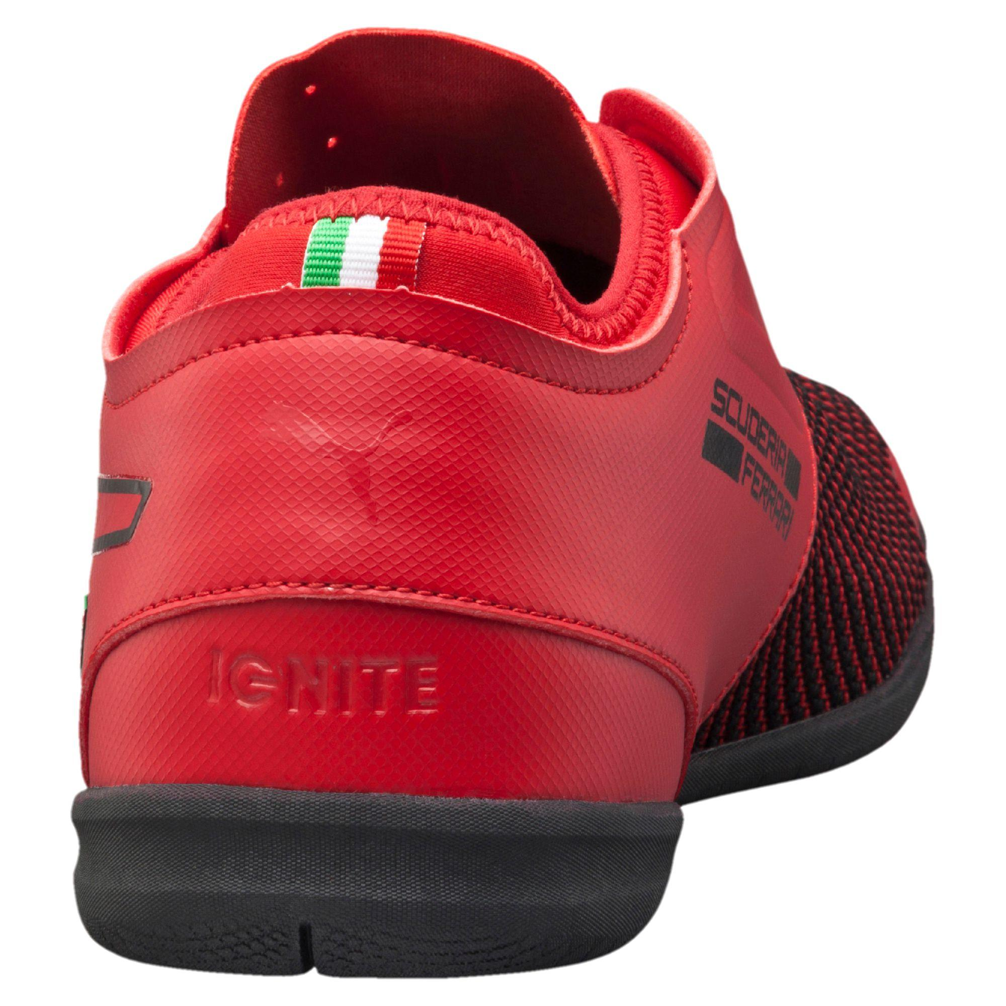 ee4feafb5f7ed5 Lyst - PUMA Ferrari Changer Ignite Statement Men s Shoes in Black ...