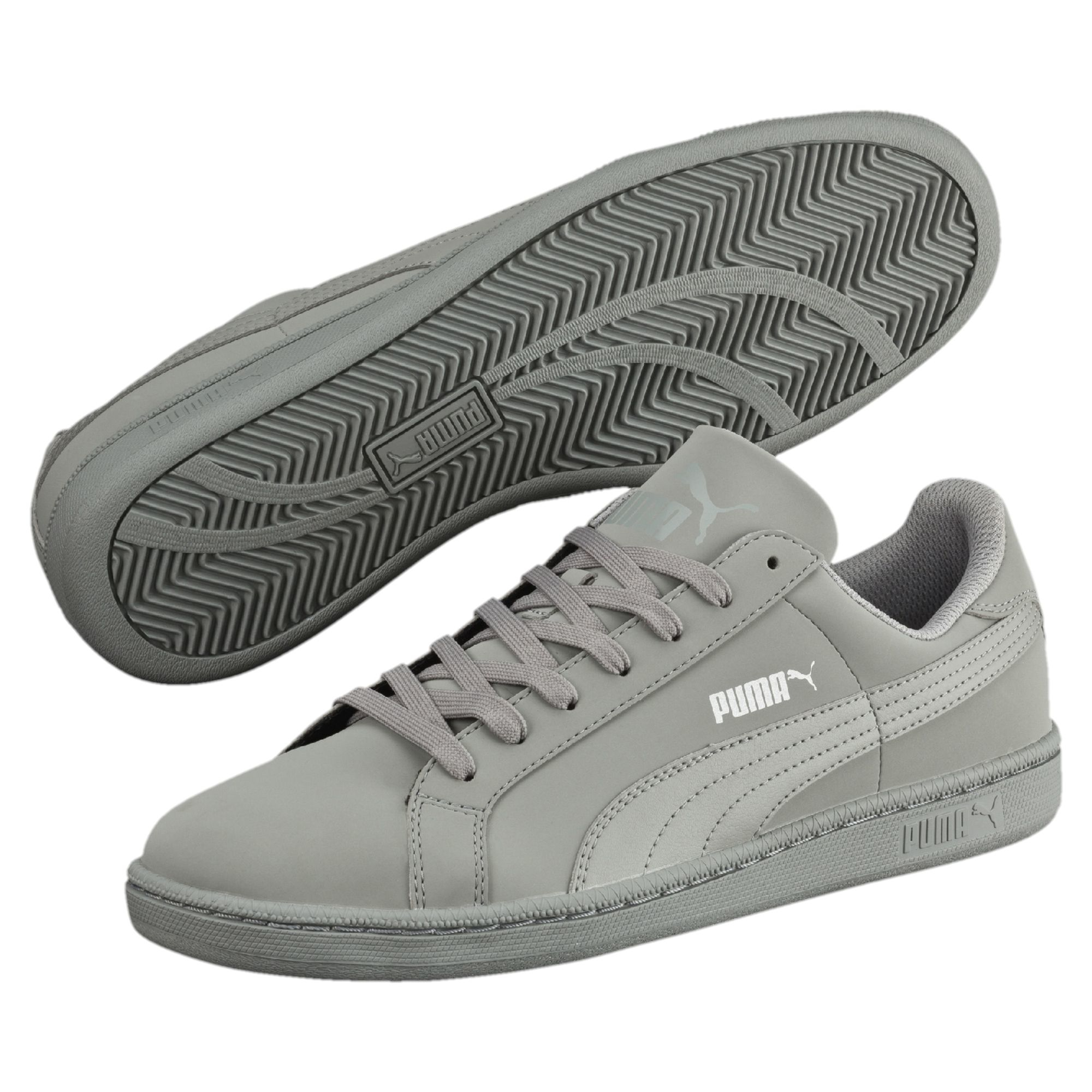 bca6d22744e Lyst - PUMA Smash Buck Men s Sneakers in Gray for Men