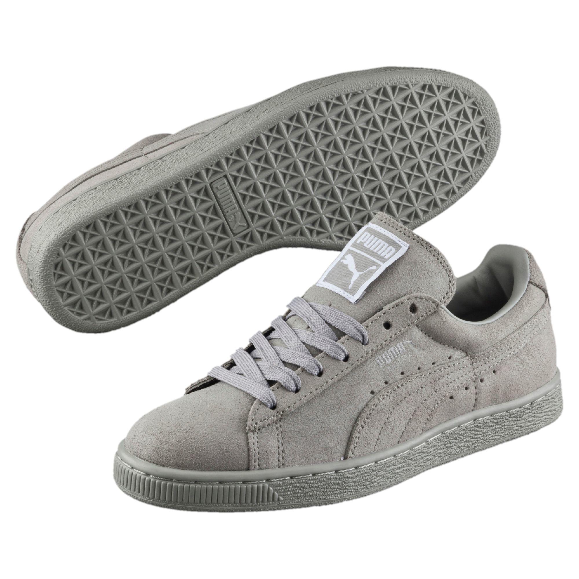 8cec23de7bdd Lyst - Puma Suede Classic Matte   Shine Women s Sneakers in Gray