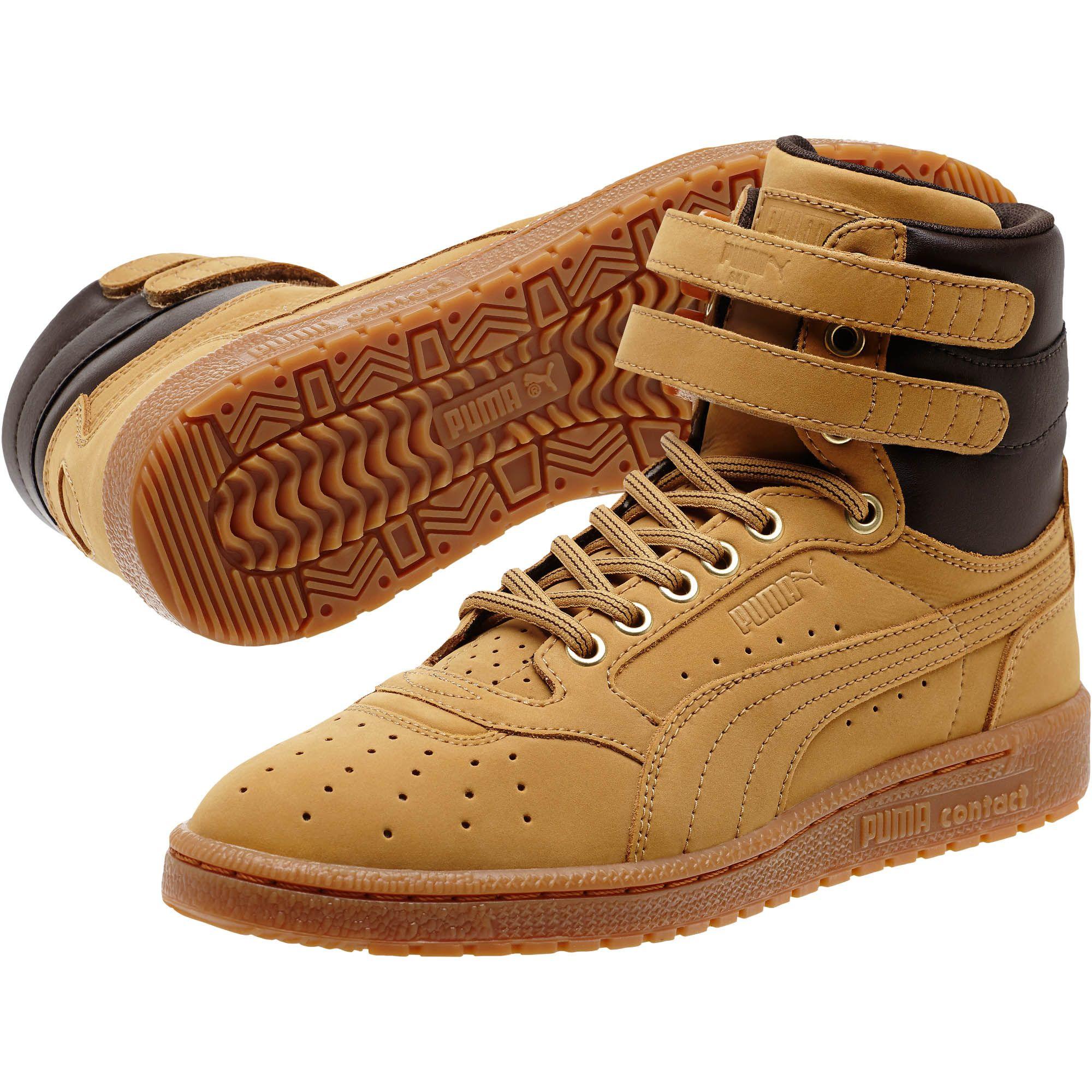 984d204c97d3 Lyst - PUMA Sky Ii Hi Nubuck Men s Sneakers in Brown for Men