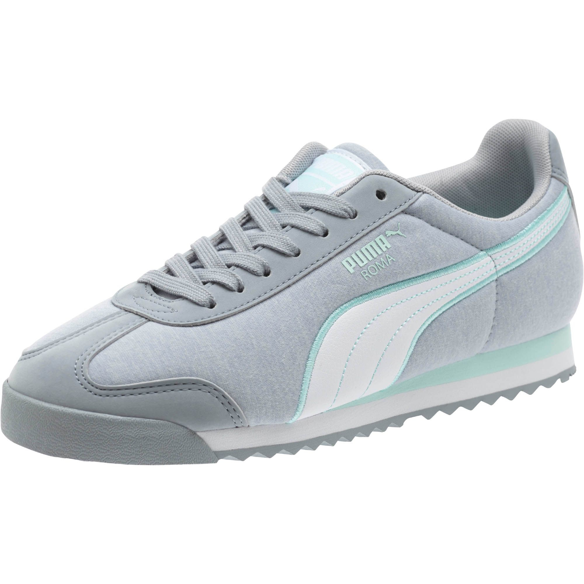 Lyst - PUMA Roma Jersey Women s Sneakers in Brown 89699f2061