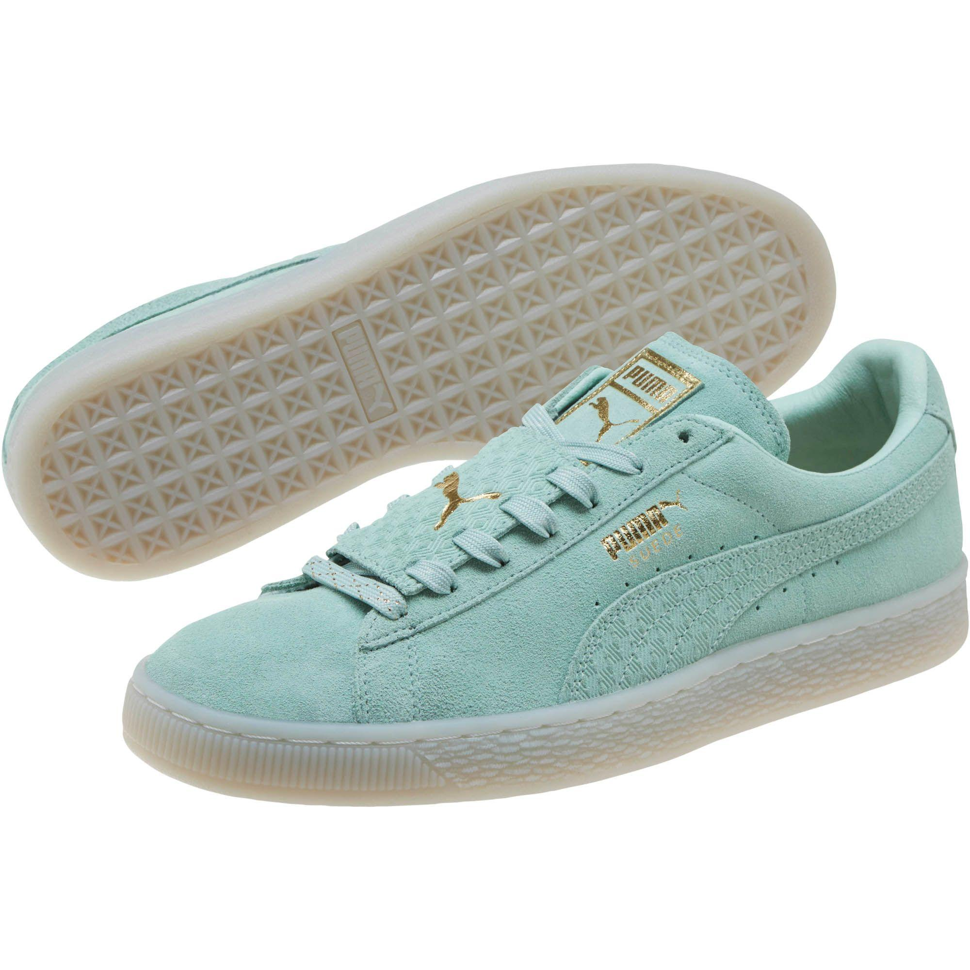 bba6219d6720 Lyst - PUMA Suede Epic Remix Men s Sneakers in Green for Men