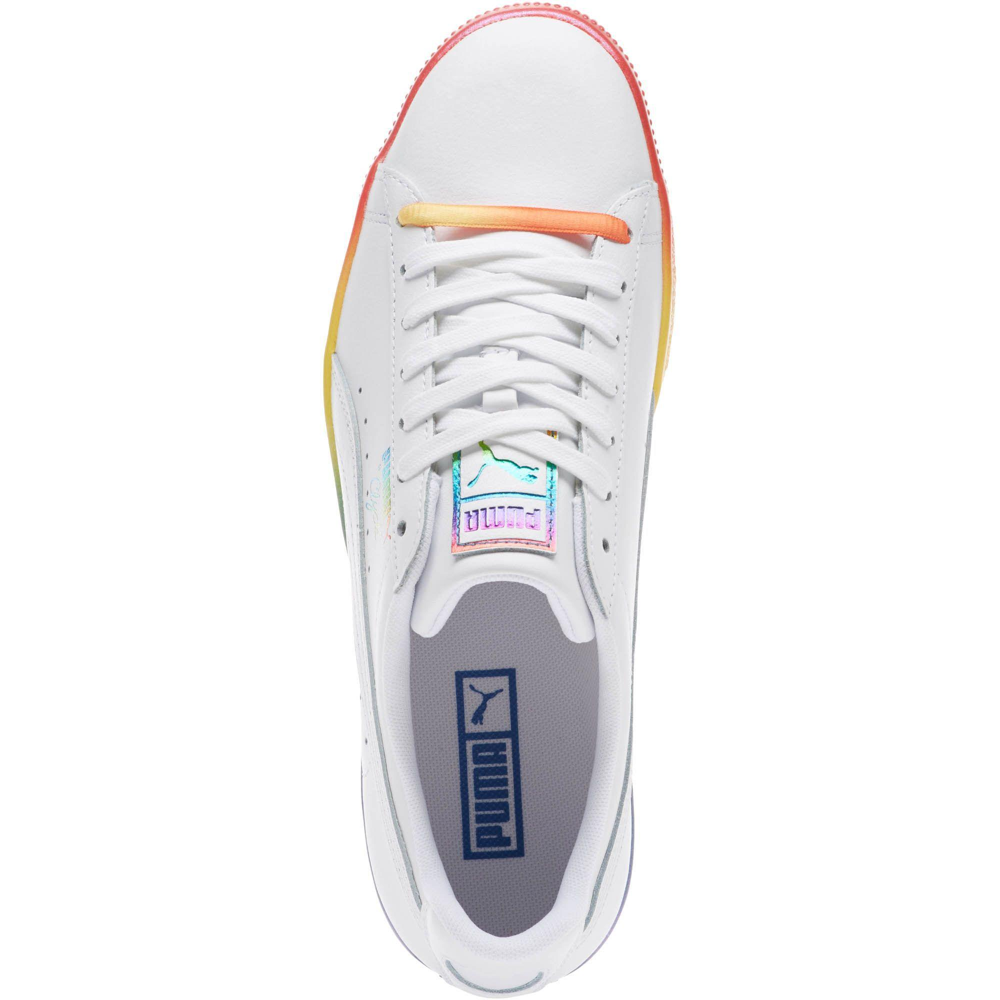59386c45dd1 Lyst - PUMA Clyde Pride Sneakers in White