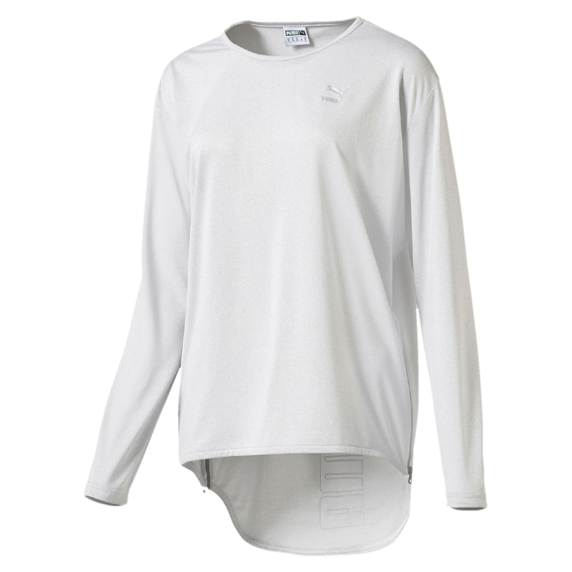 Puma Long Bell Sleeves T Shirt In White Lyst