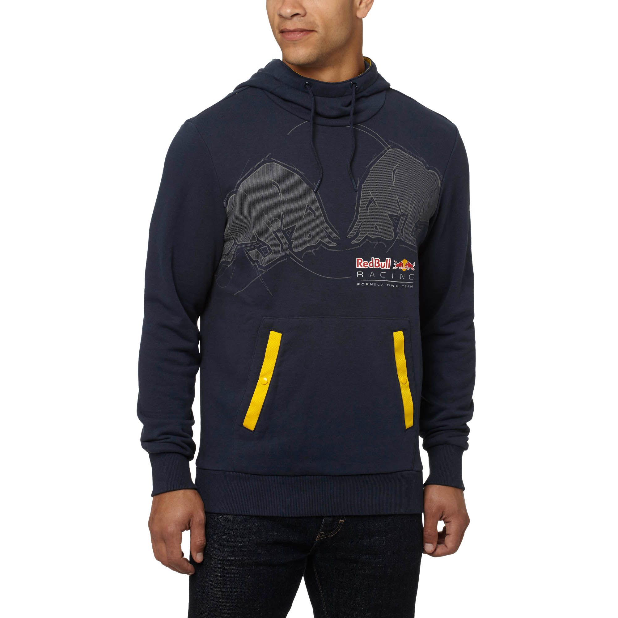 8ee1d38593c Lyst - PUMA Red Bull Racing Graphic Hoodie in Blue for Men