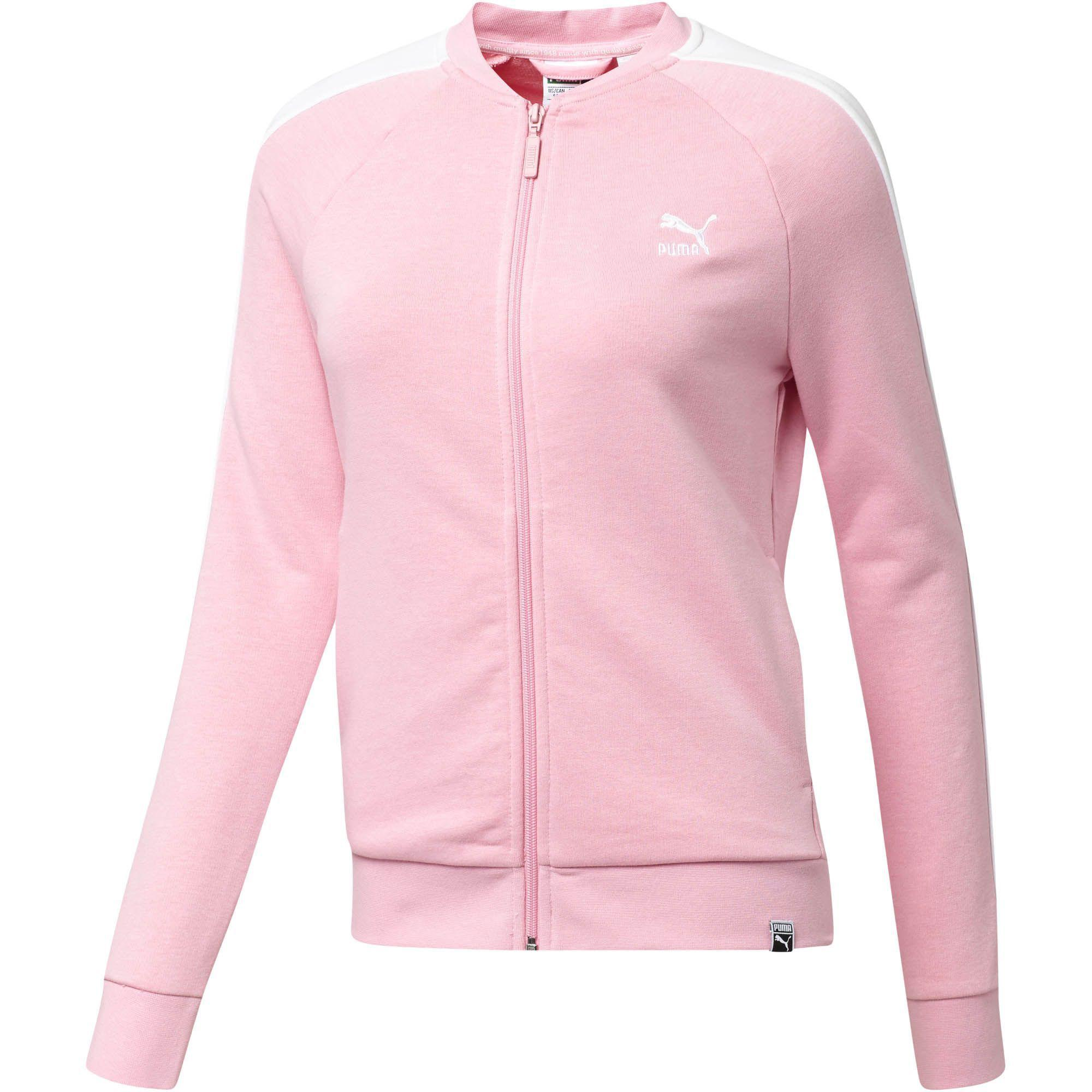 b0f1c41d86e7 Lyst - PUMA Archive Logo T7 Track Jacket in Pink