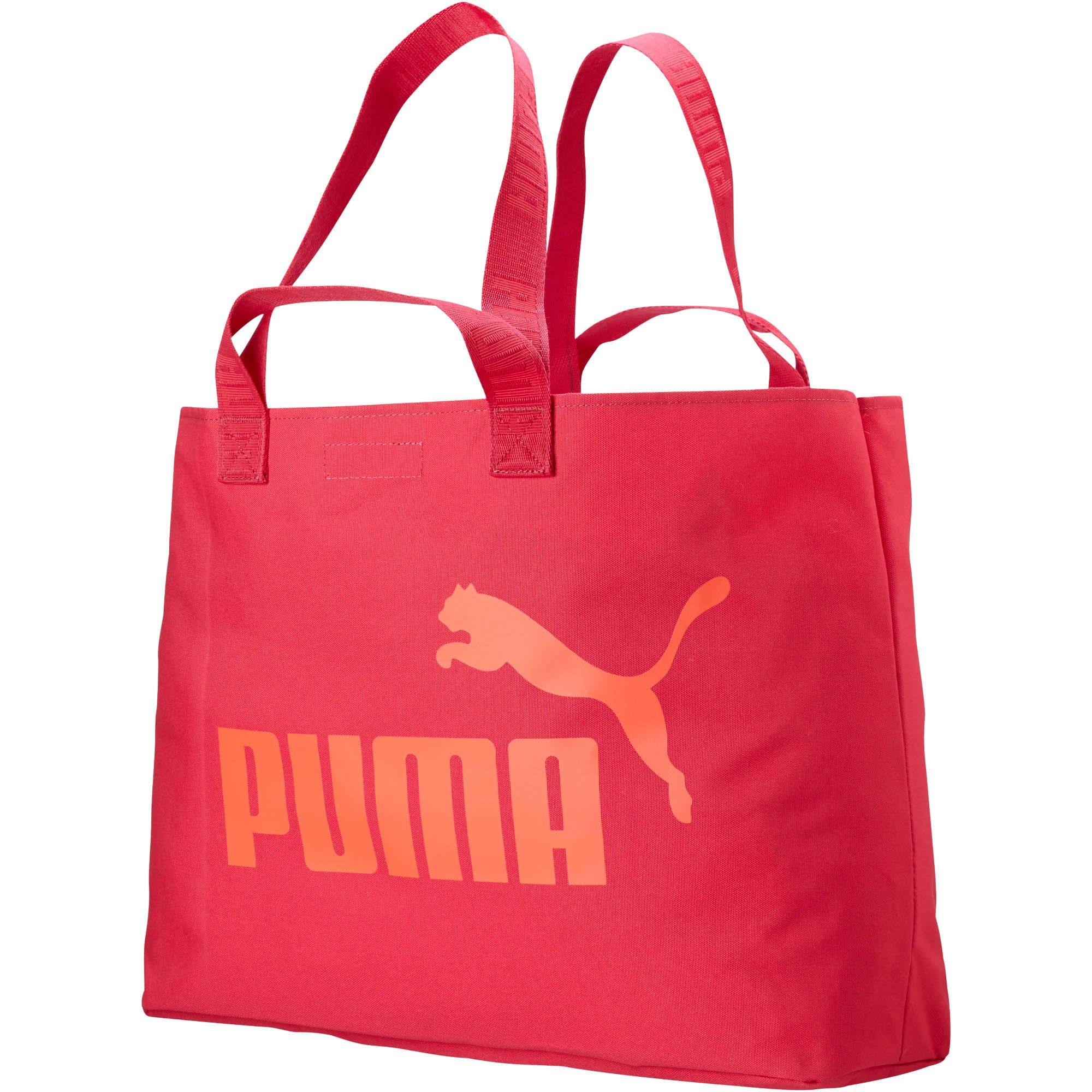 aedf0bf419 Lyst - Puma Large Shopper Bag in Orange