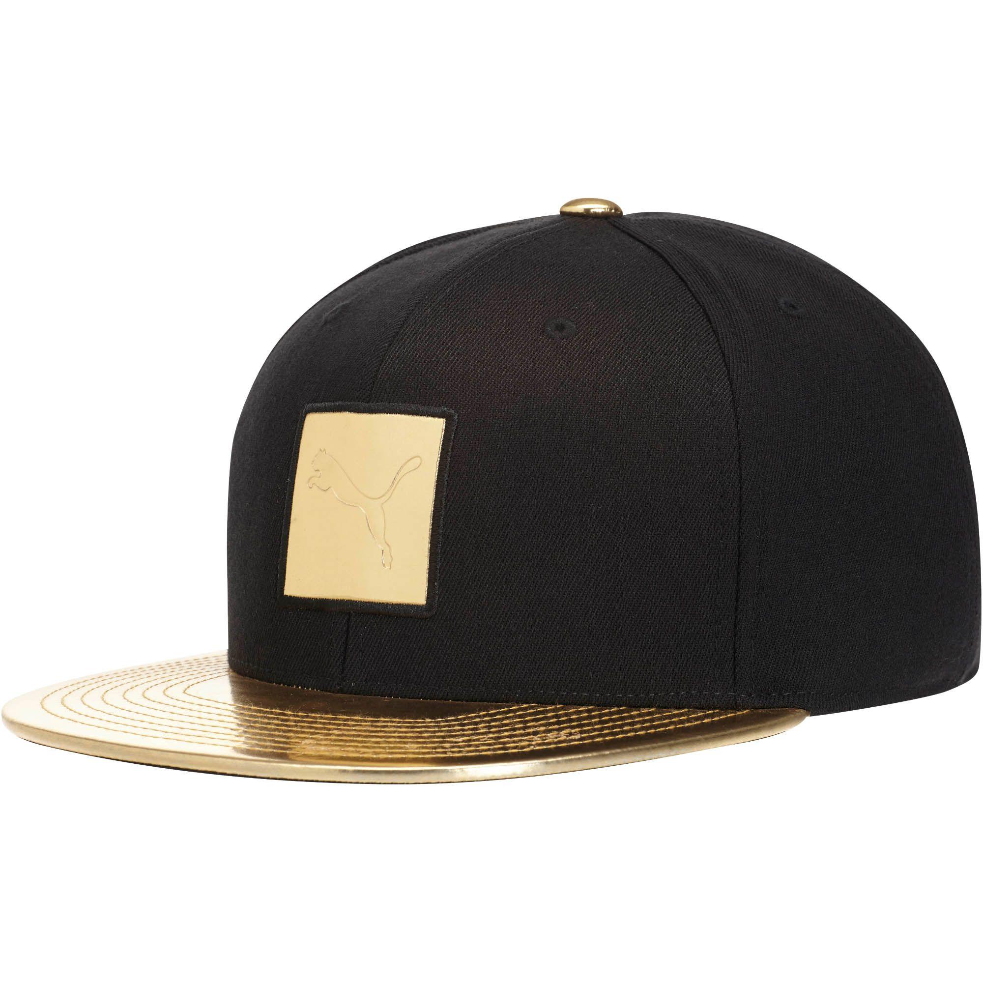 96129a74af6 Lyst - PUMA Cat Patch 110 Snapback Hat in Black for Men